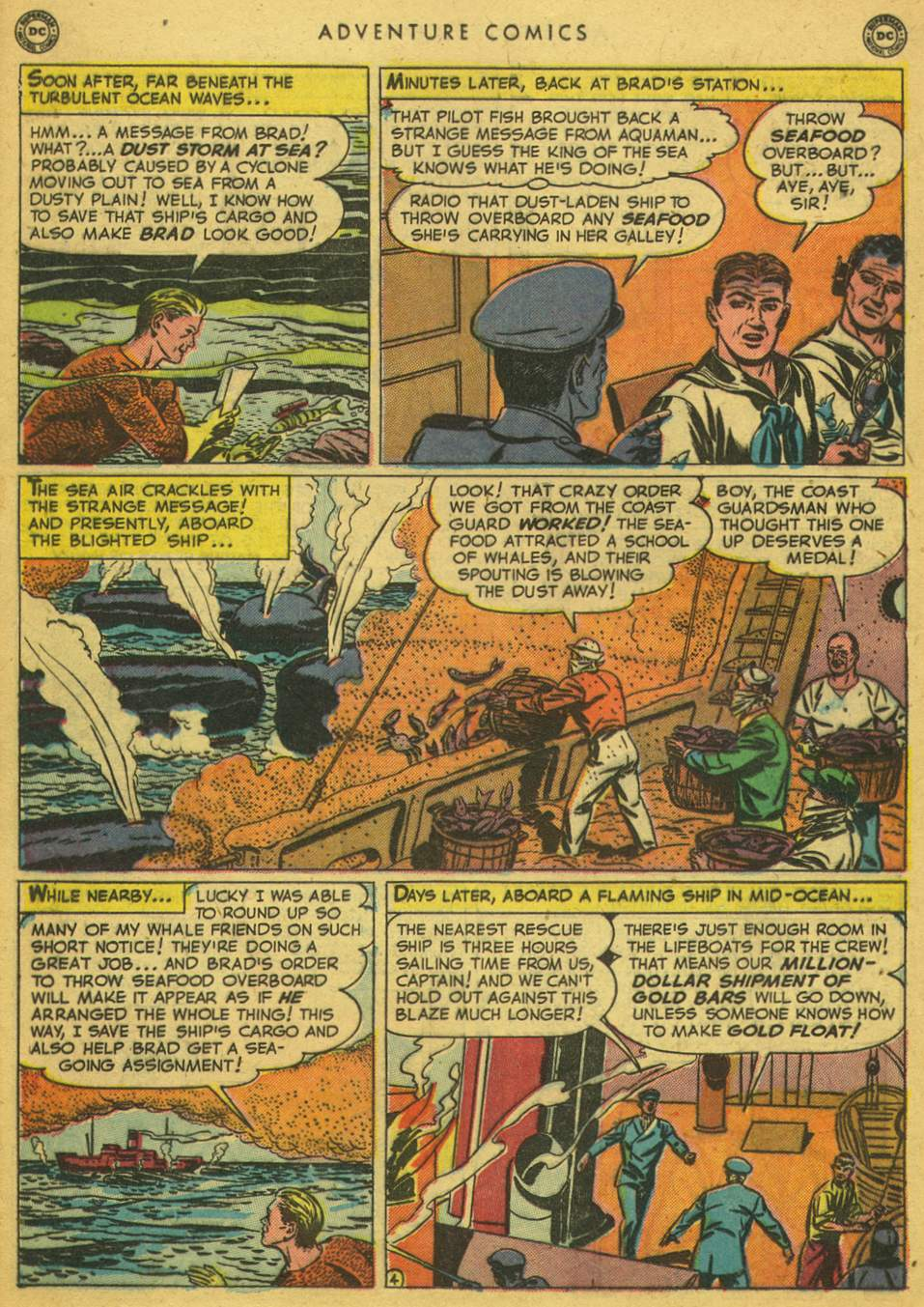 Read online Adventure Comics (1938) comic -  Issue #164 - 30