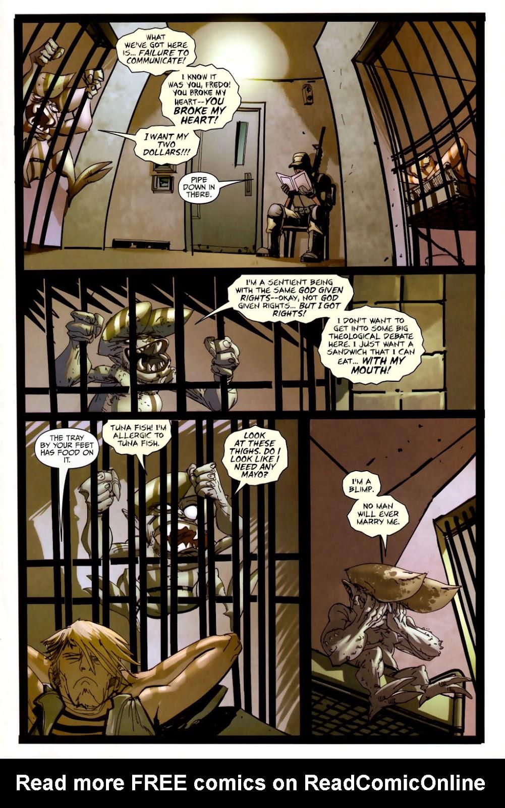 Strange Girl Issue #6 #7 - English 3