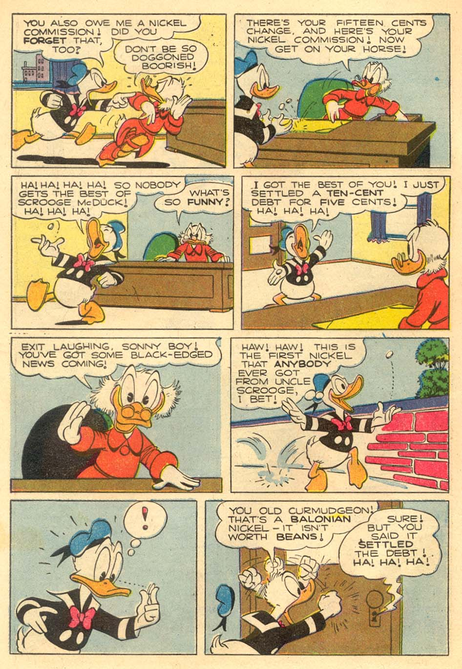 Uncle Scrooge (1953) Issue #5 #5 - English 6
