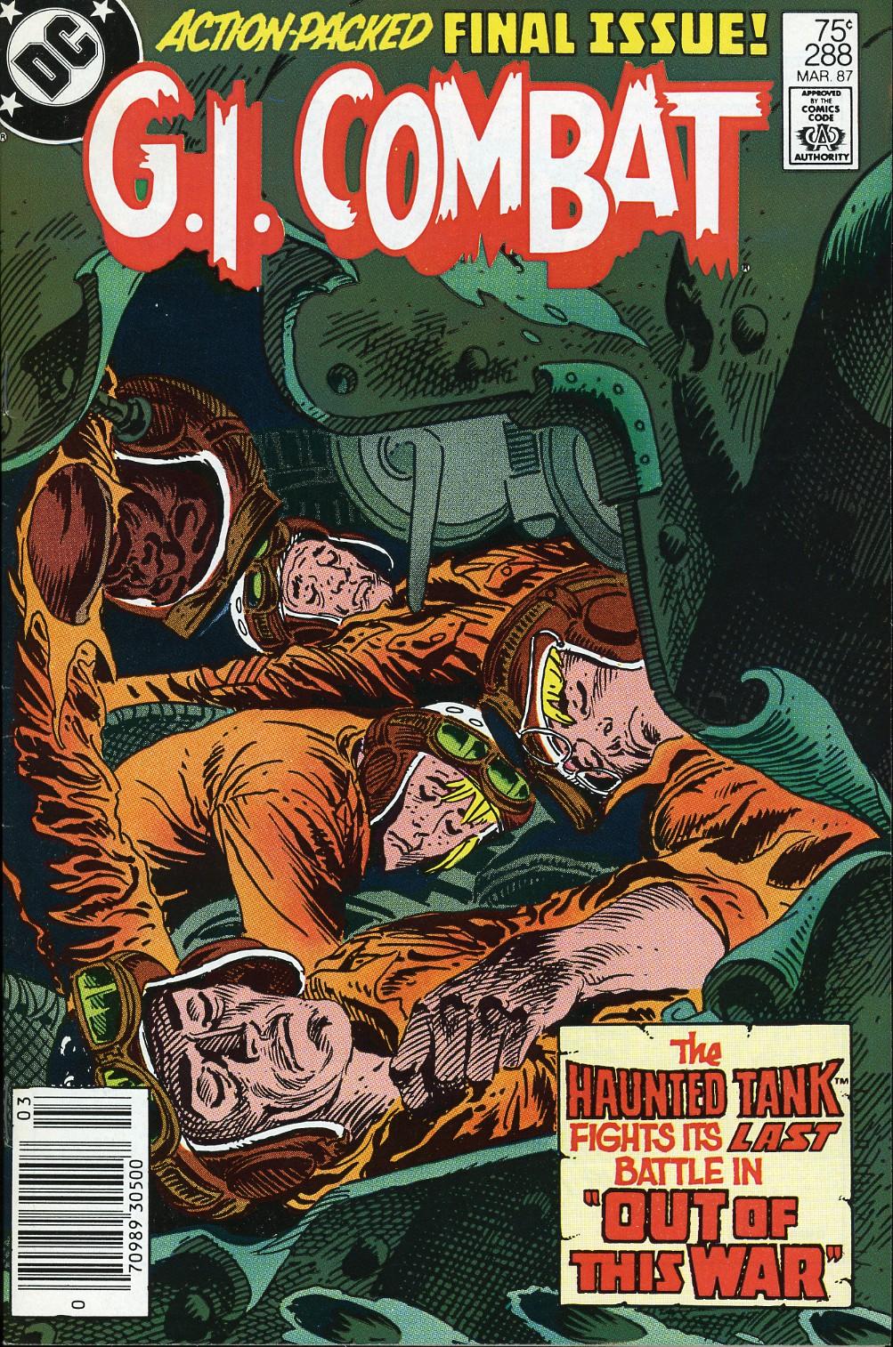 G.I. Combat (1952) Issue #288 #288 - English 1
