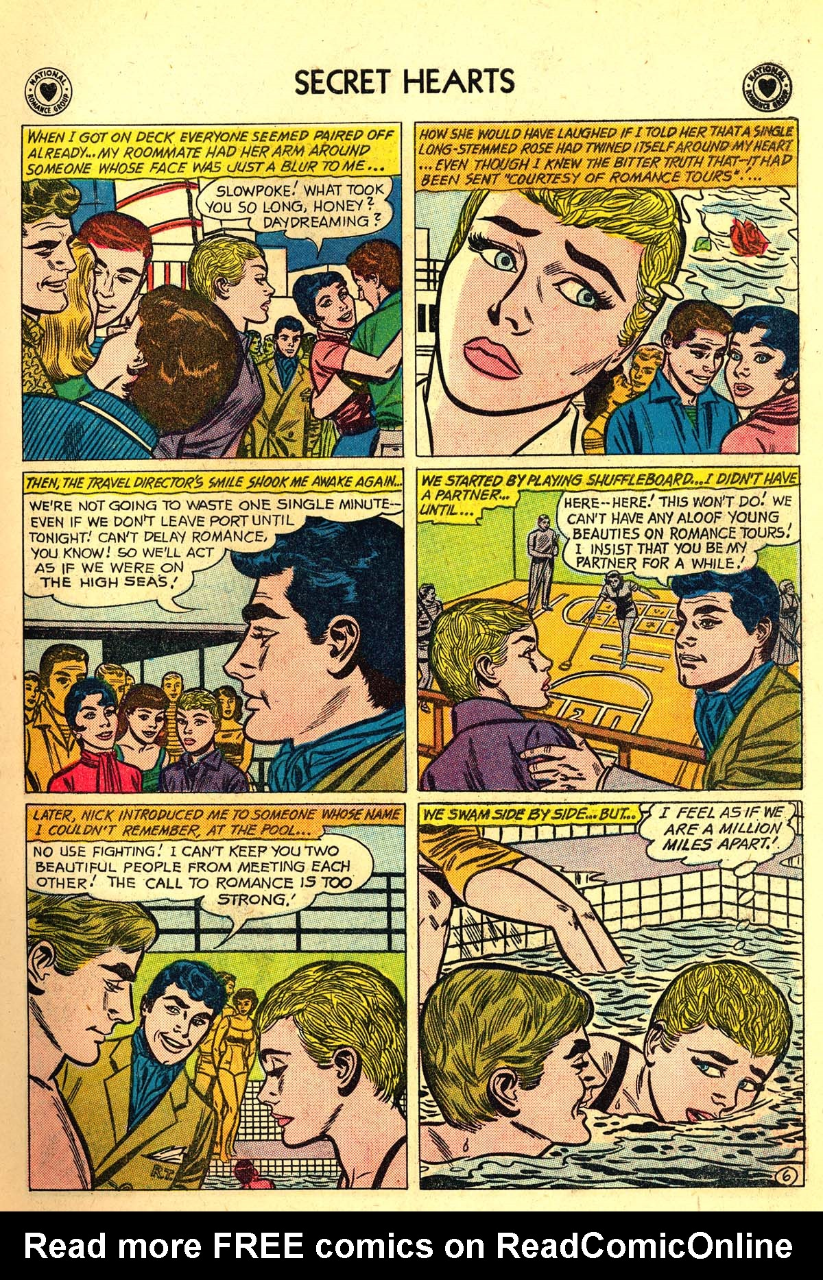 Read online Secret Hearts comic -  Issue #64 - 15