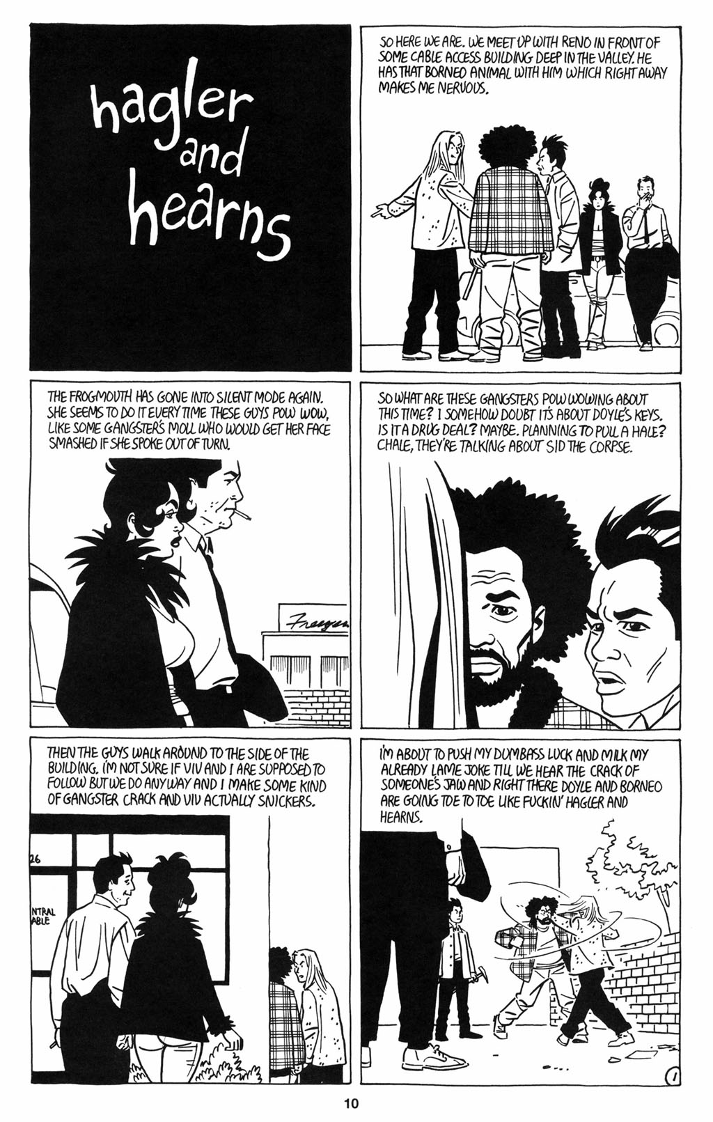 Read online Love and Rockets (2001) comic -  Issue #12 - 11