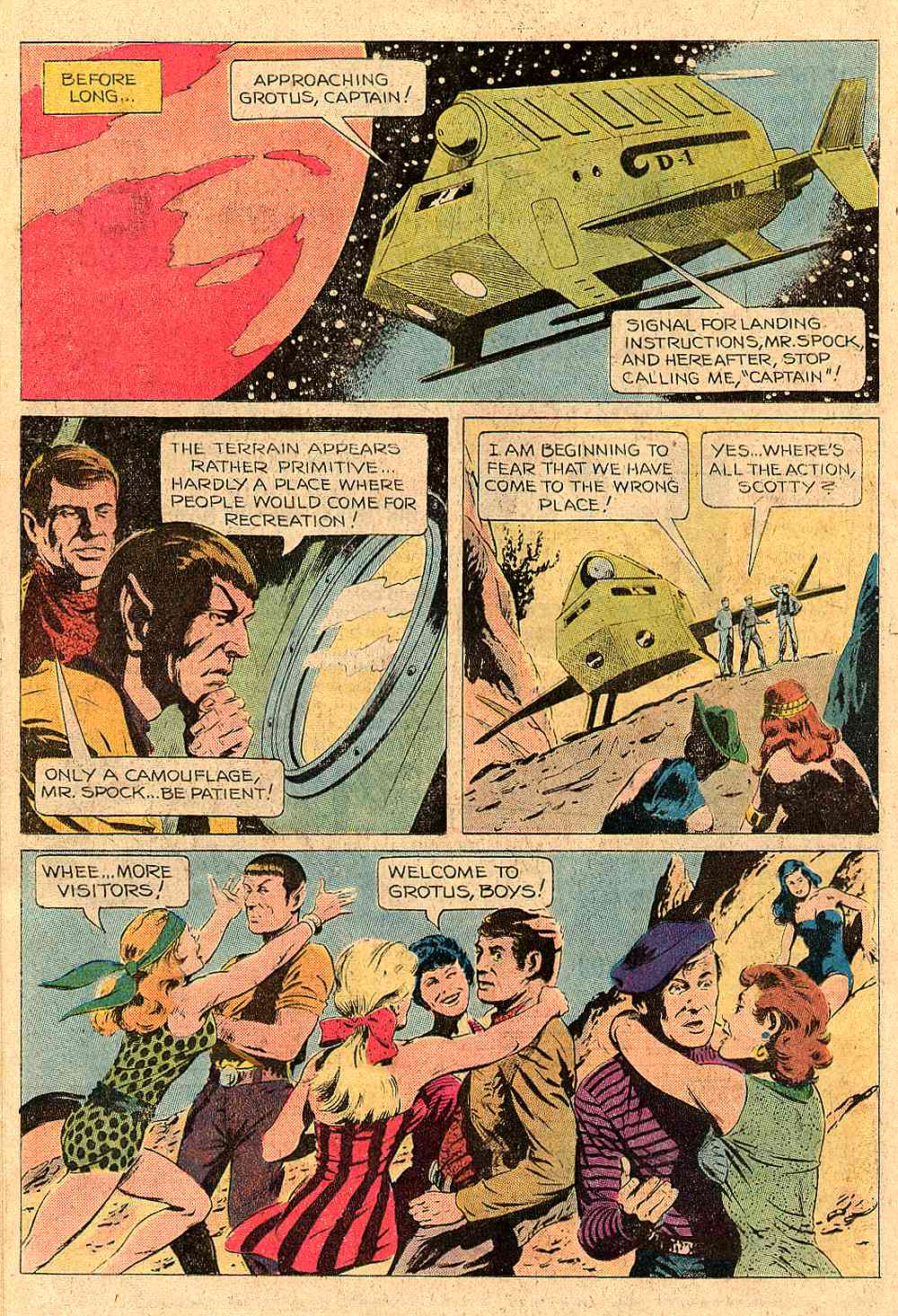 Star Trek (1967) #54 #54 - English 12