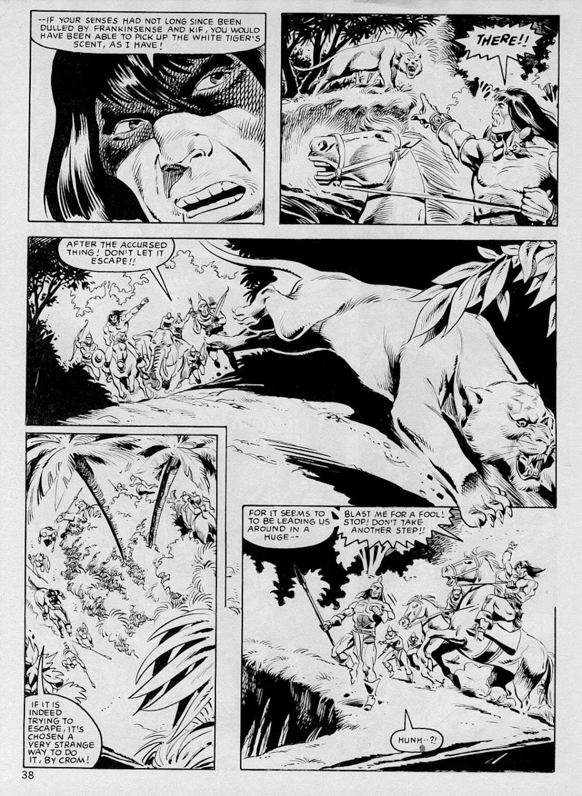 The Savage Sword Of Conan Issue #103 #104 - English 37