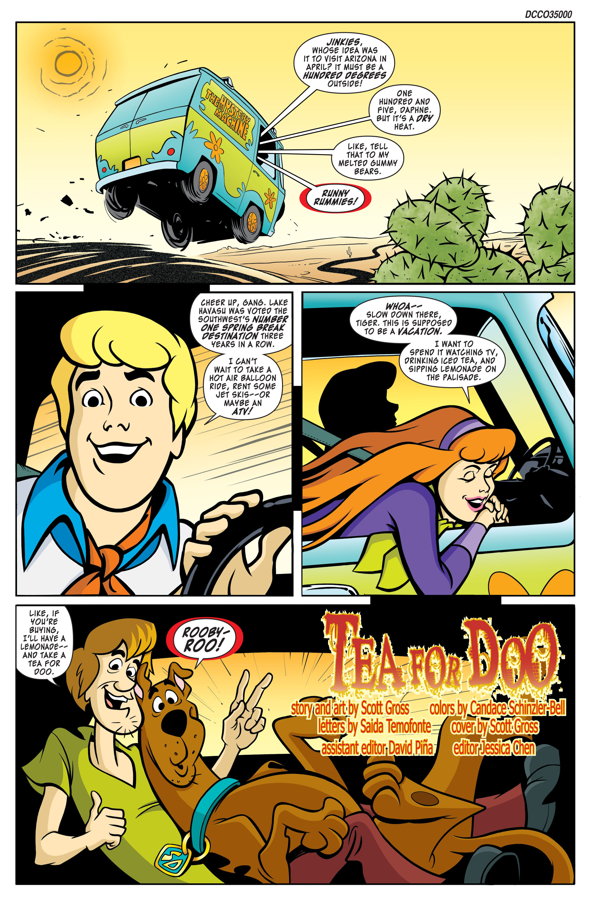 Read online Scooby-Doo: Where Are You? comic -  Issue #57 - 2
