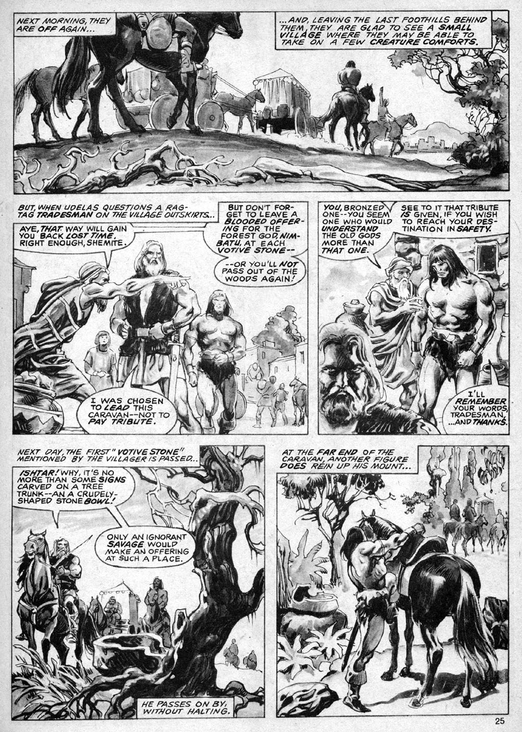 The Savage Sword Of Conan Issue #69 #70 - English 25