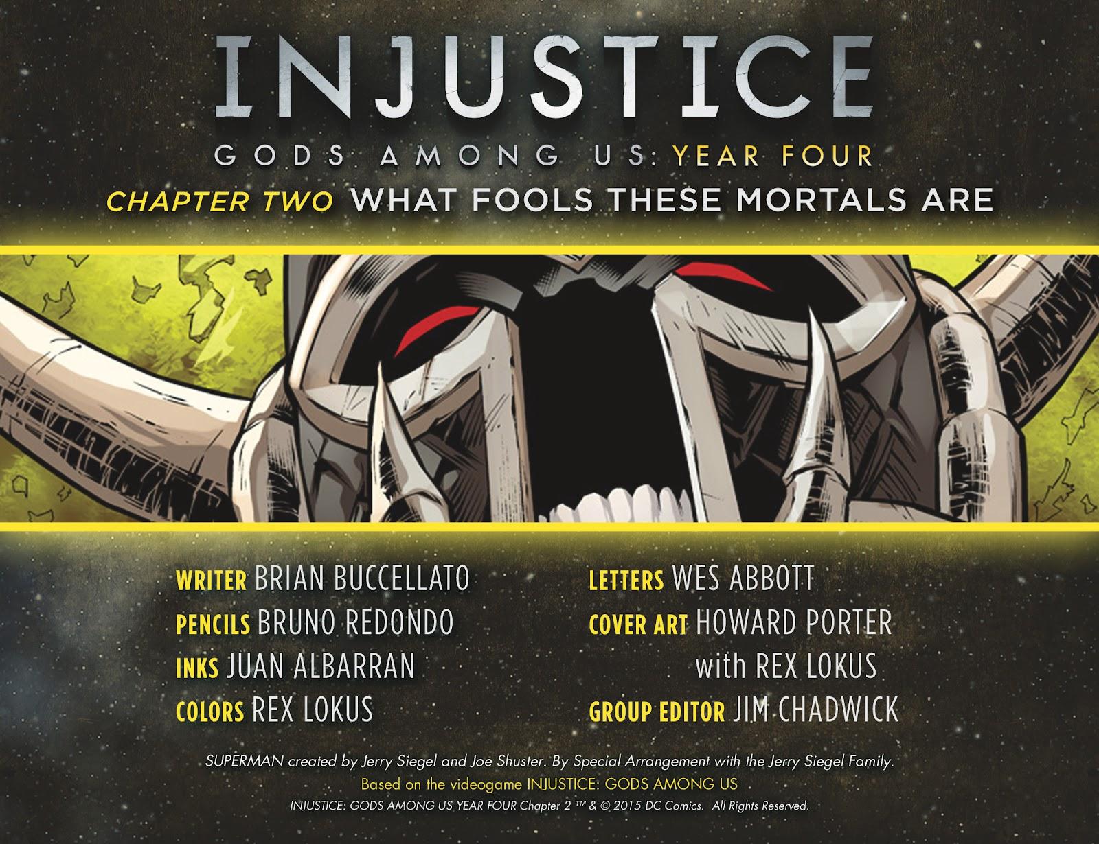 Injustice: Gods Among Us Year Four Issue #2 #3 - English 2