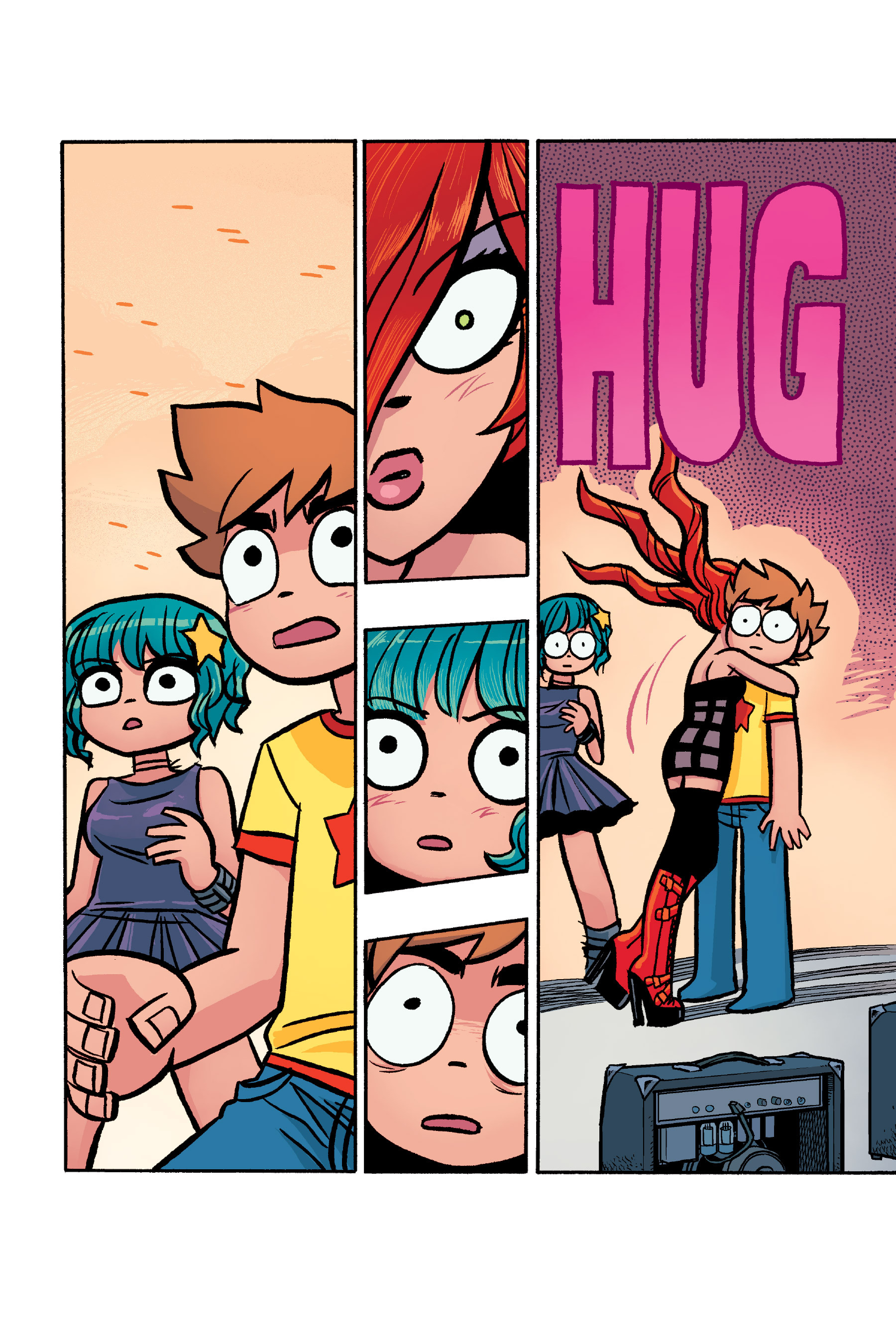 Read online Scott Pilgrim comic -  Issue #6 - 211