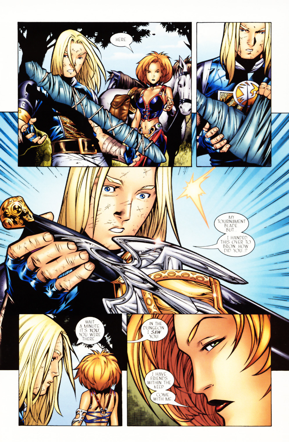 Read online Scion comic -  Issue #3 - 9