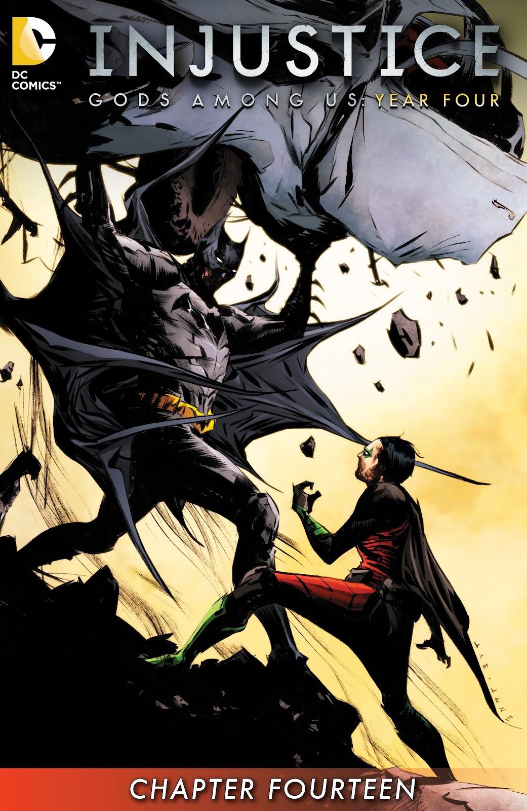 Injustice: Gods Among Us Year Four Issue #14 #15 - English 2