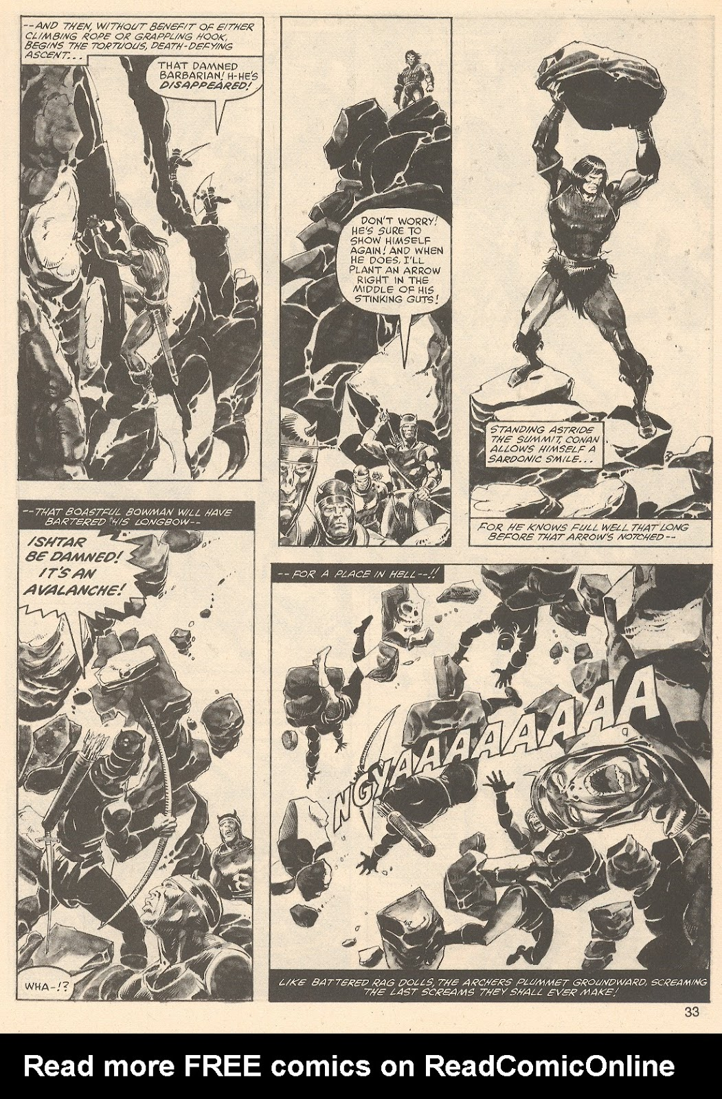 The Savage Sword Of Conan Issue #76 #77 - English 33