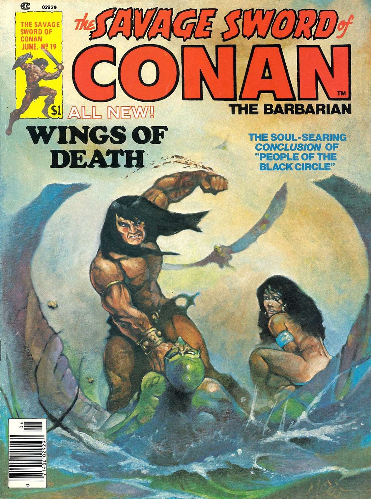 The Savage Sword Of Conan Issue #19 #20 - English 1
