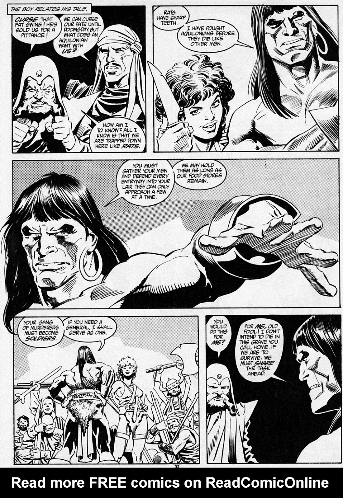 The Savage Sword Of Conan Issue #186 #187 - English 34
