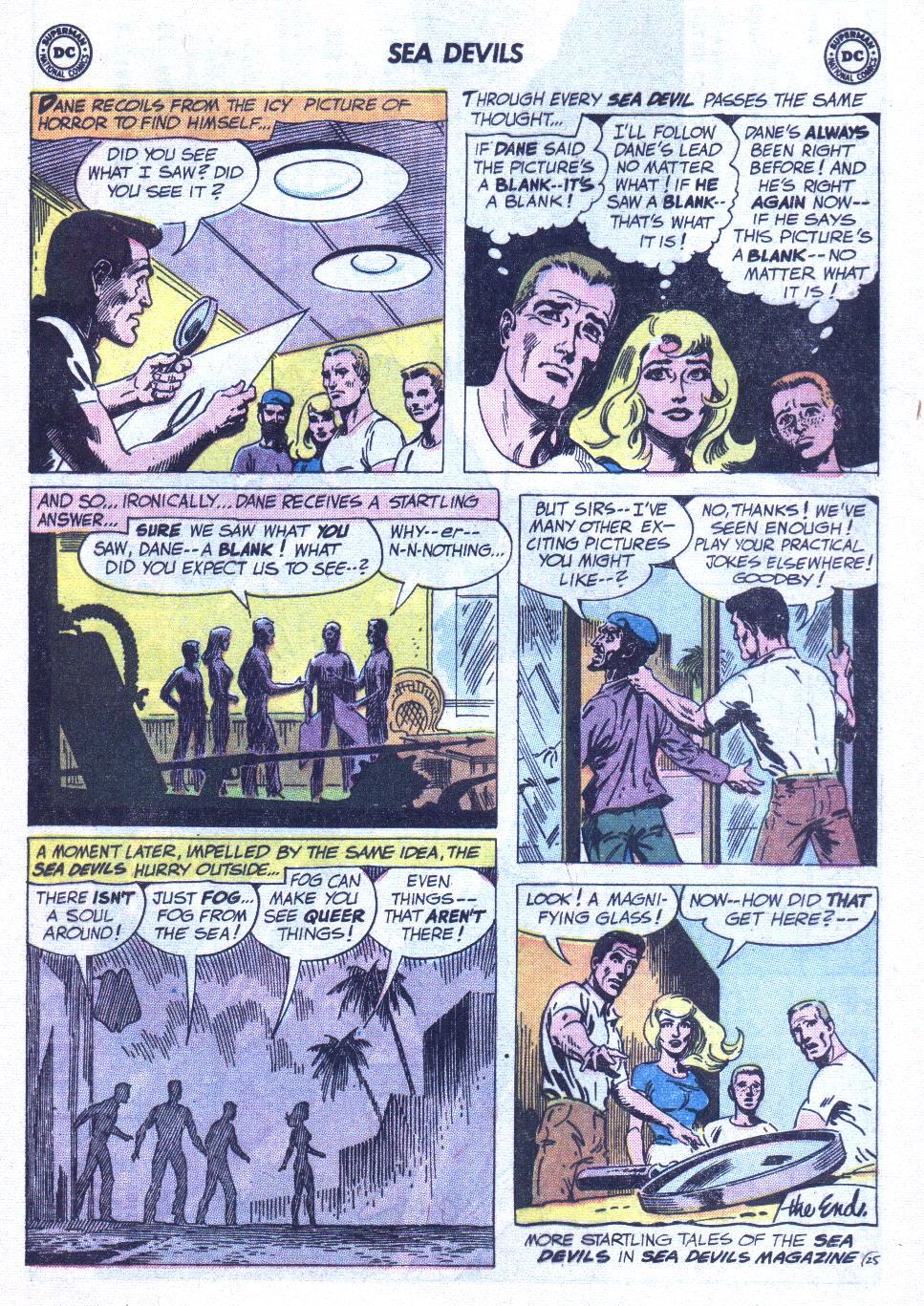 Read online Sea Devils comic -  Issue #6 - 34
