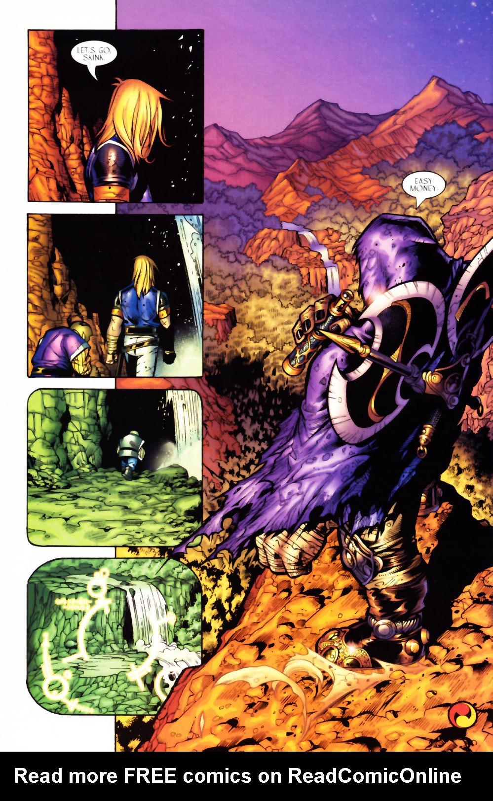 Read online Scion comic -  Issue #3 - 23
