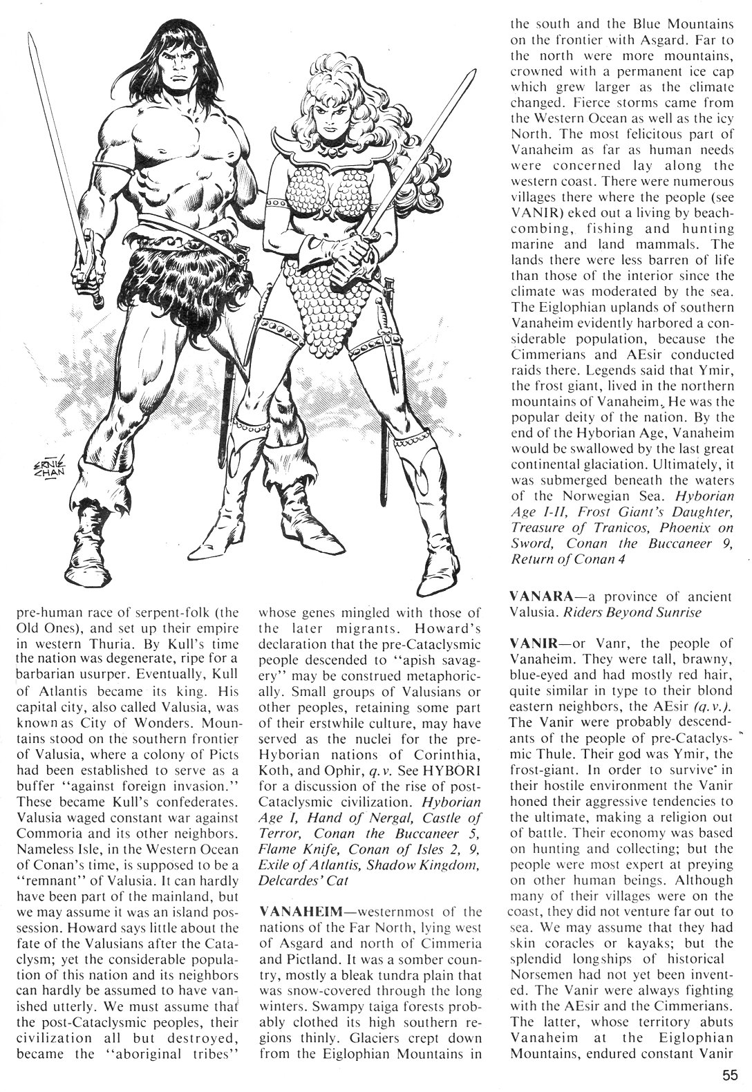 The Savage Sword Of Conan Issue #40 #41 - English 55