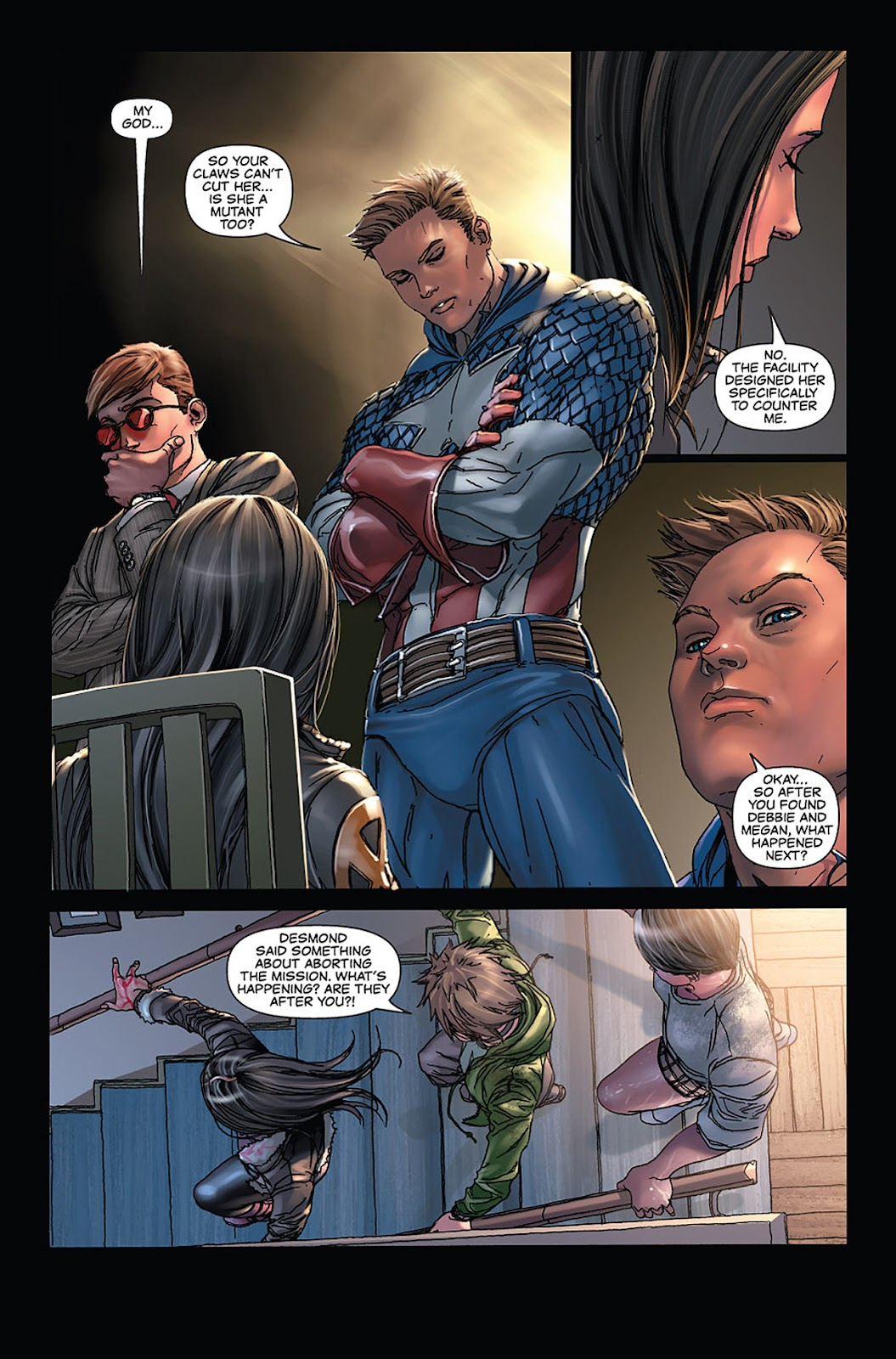 X-23: Target X Issue #4 #4 - English 16