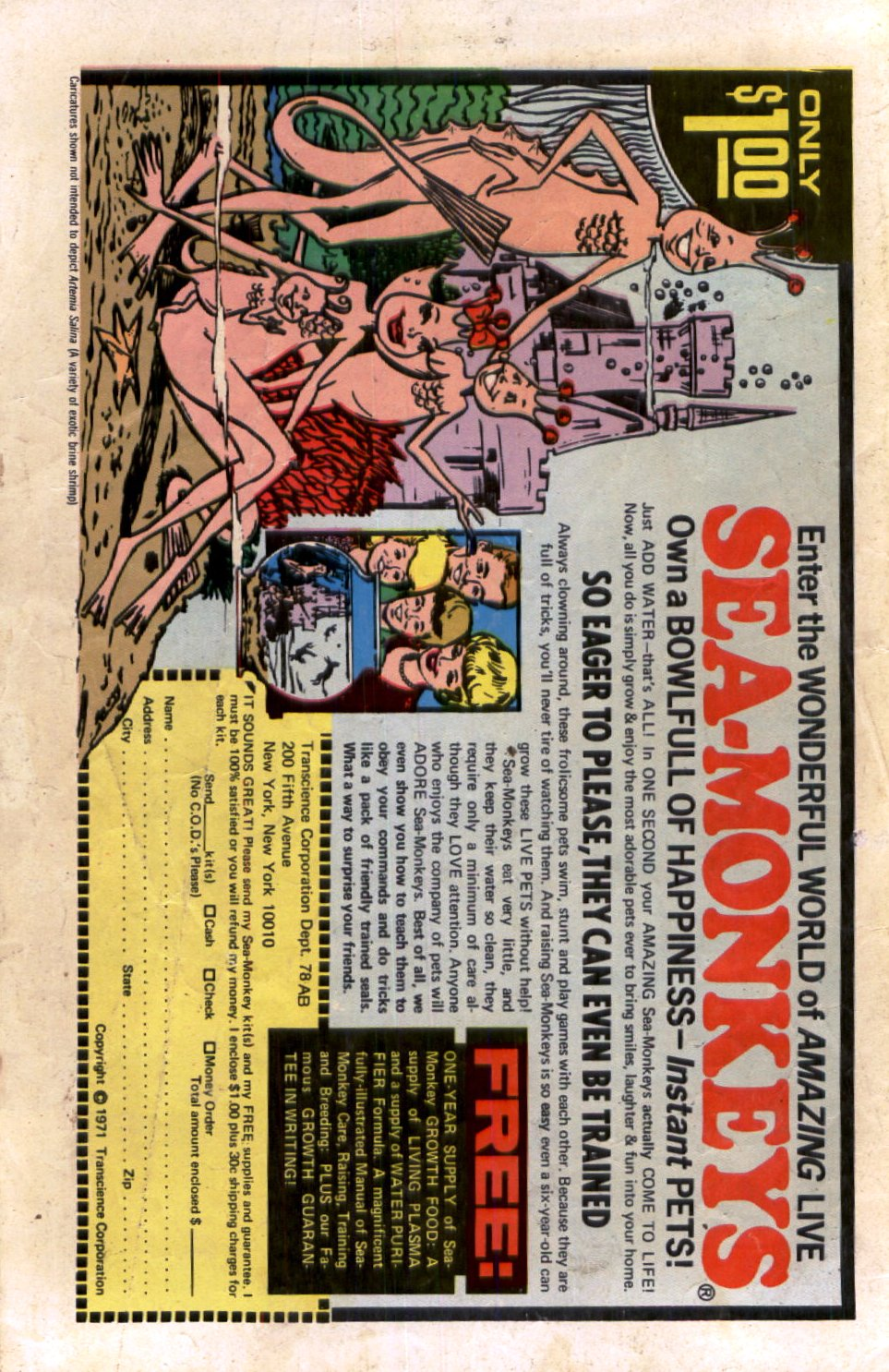 Read online Scary Tales comic -  Issue #19 - 36