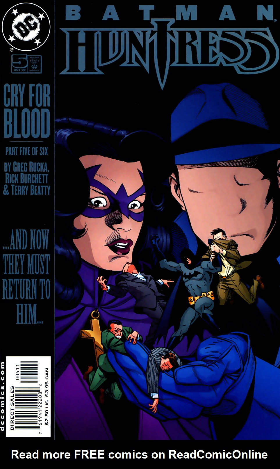 Batman/Huntress: Cry for Blood 5 Page 1