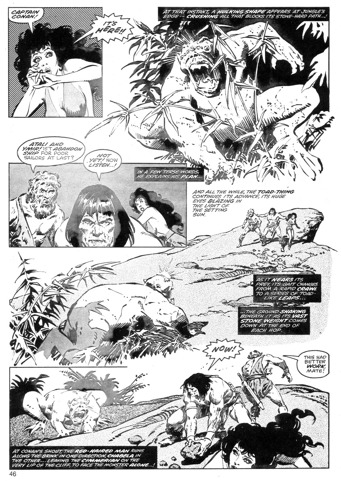 The Savage Sword Of Conan Issue #40 #41 - English 46
