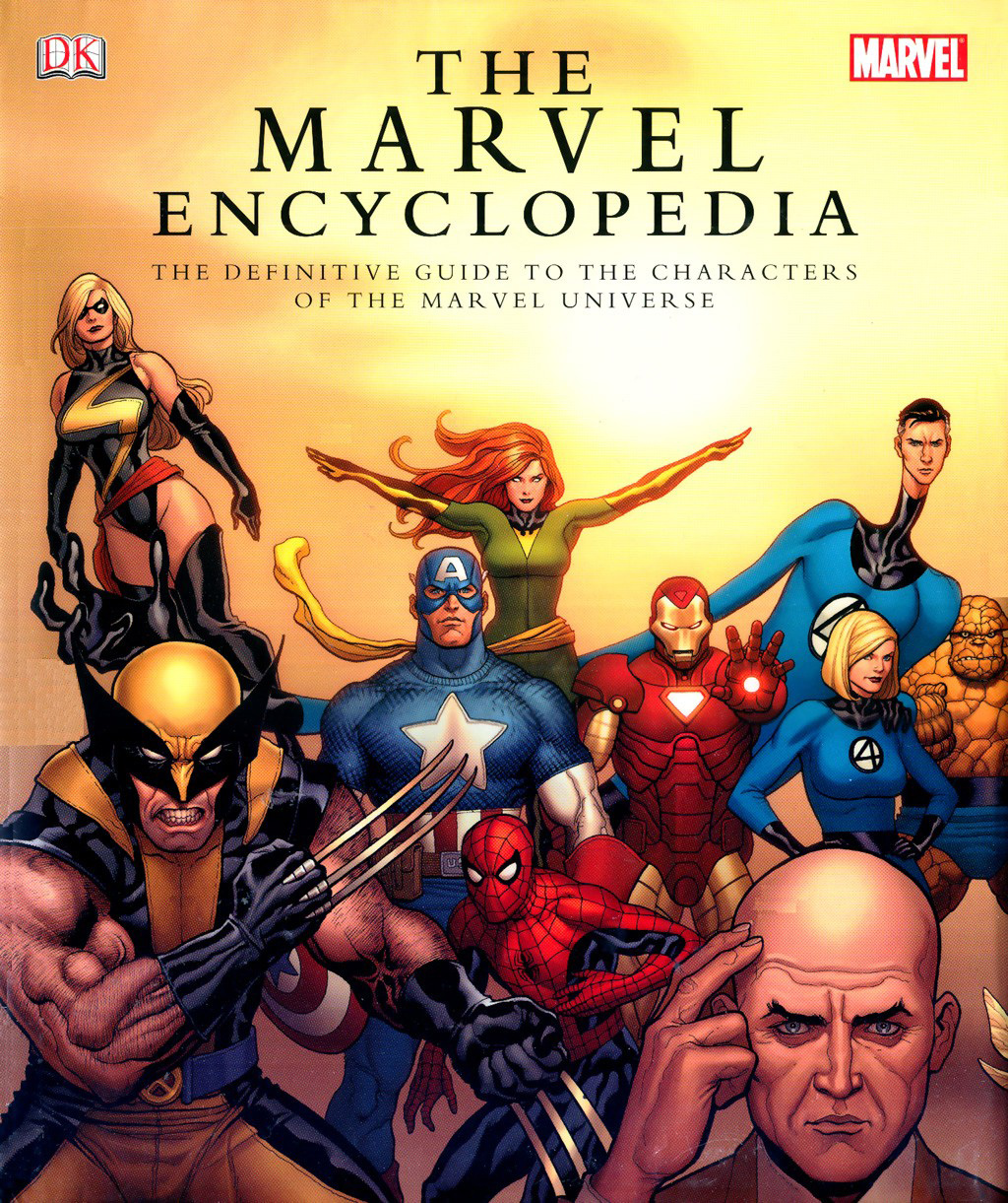 The Marvel Encyclopedia TPB Page 1