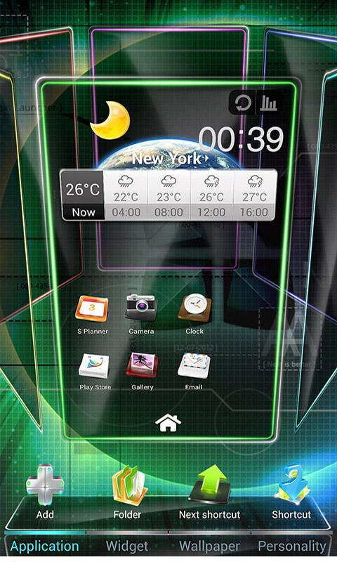 next launcher 3d free download