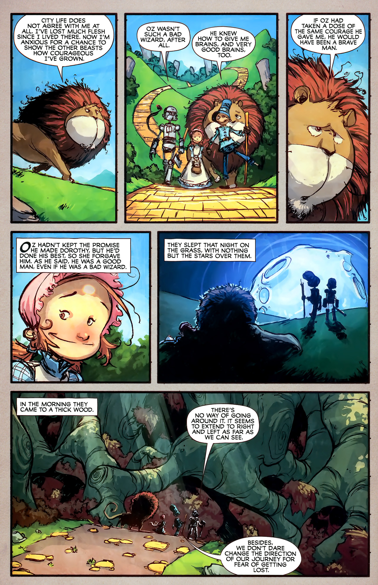 Read online The Wonderful Wizard of Oz comic -  Issue #7 - 20
