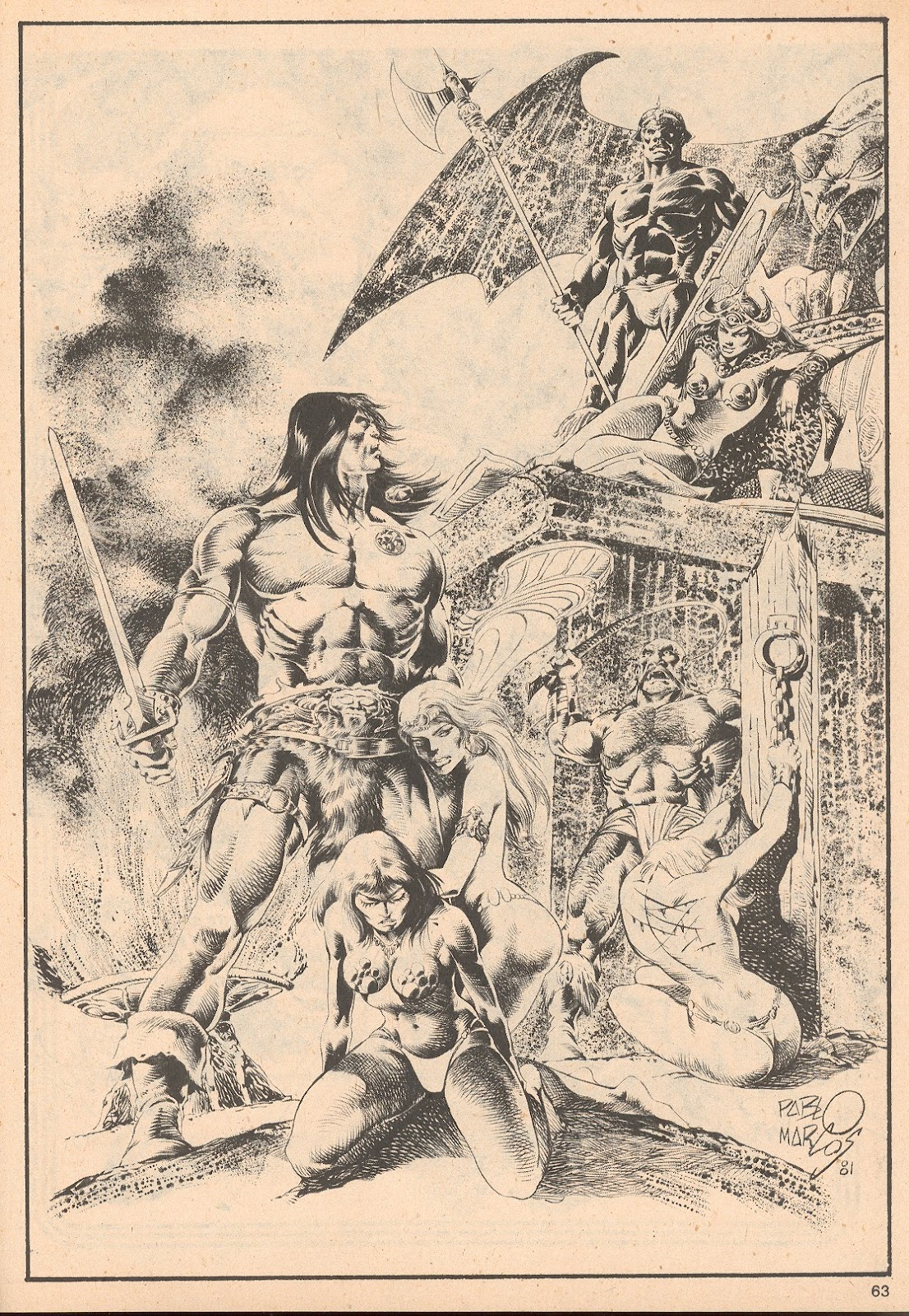 The Savage Sword Of Conan Issue #68 #69 - English 63