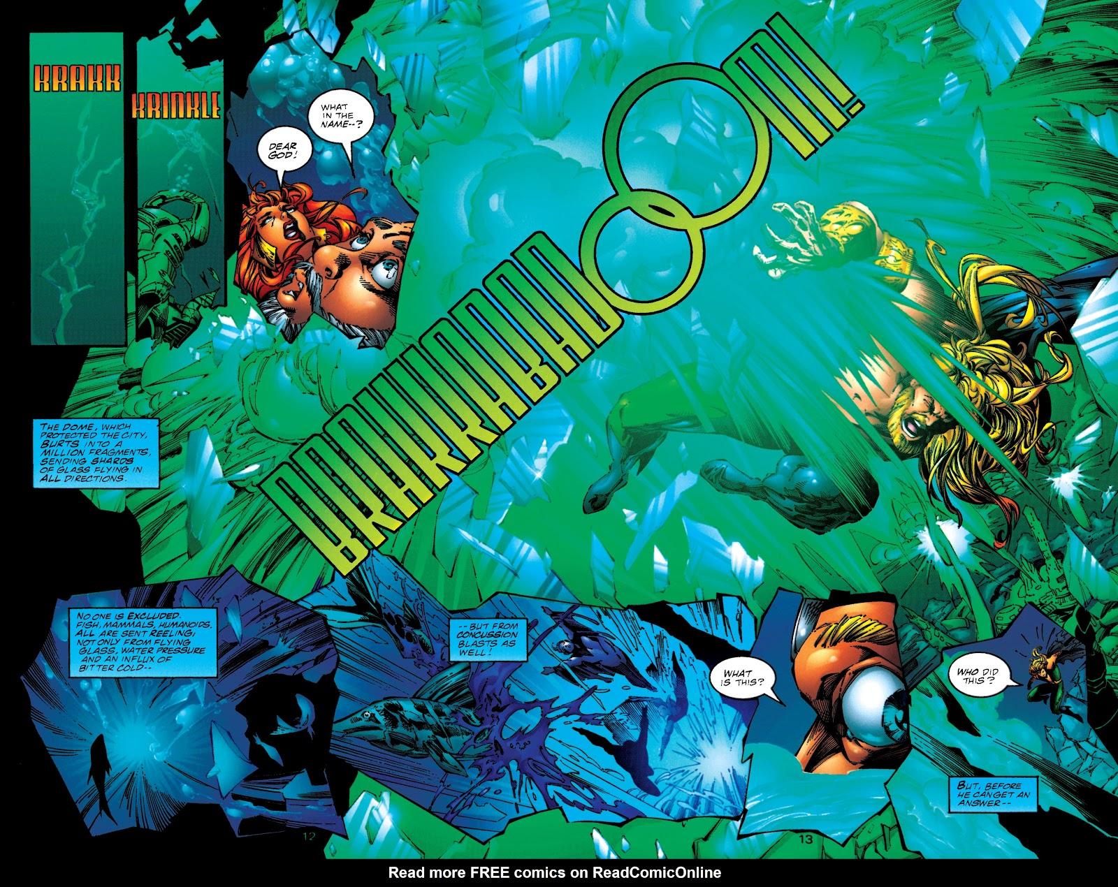Aquaman (1994) Issue #50 #56 - English 12