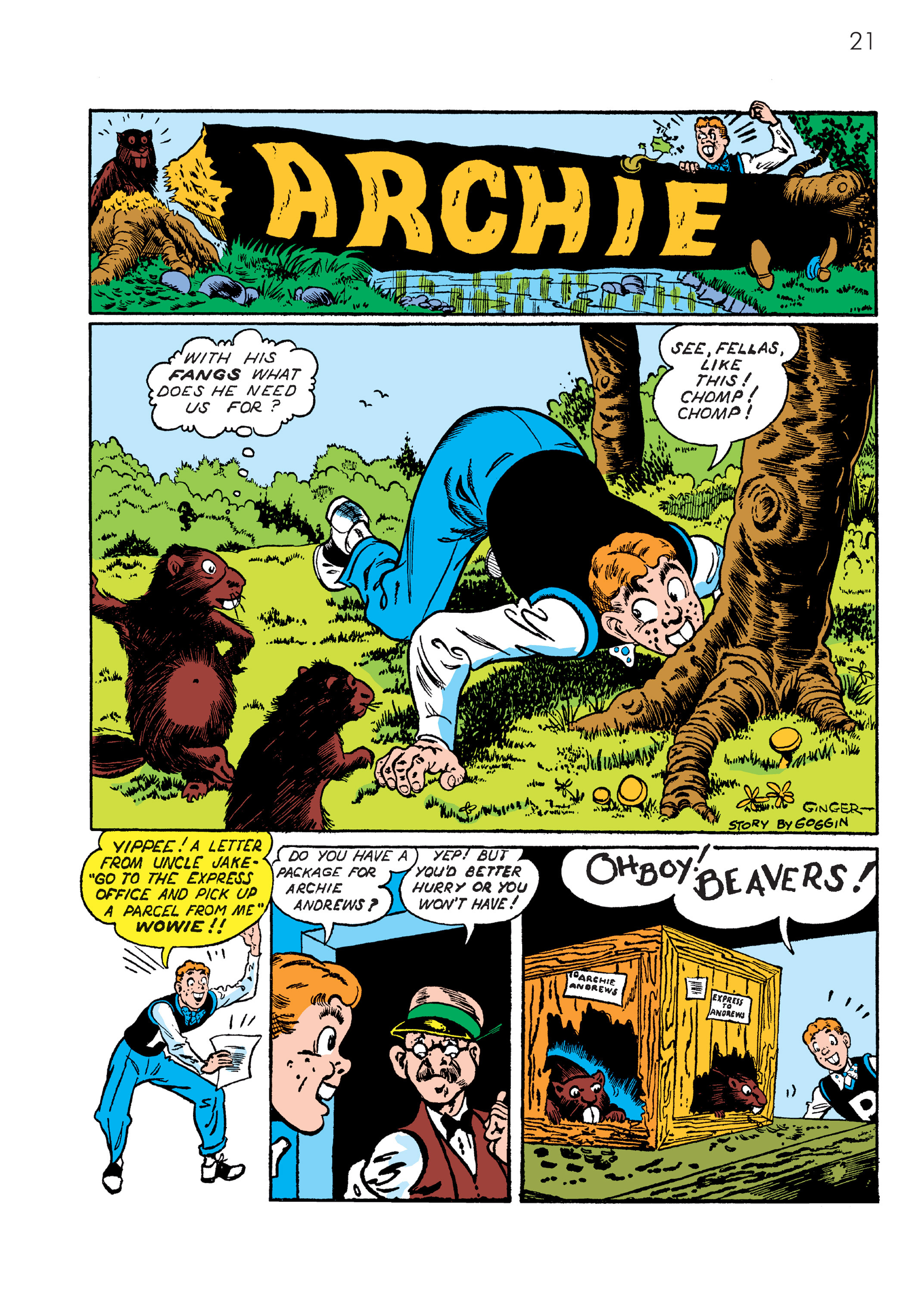 Read online The Best of Archie Comics comic -  Issue # TPB 4 (Part 1) - 22