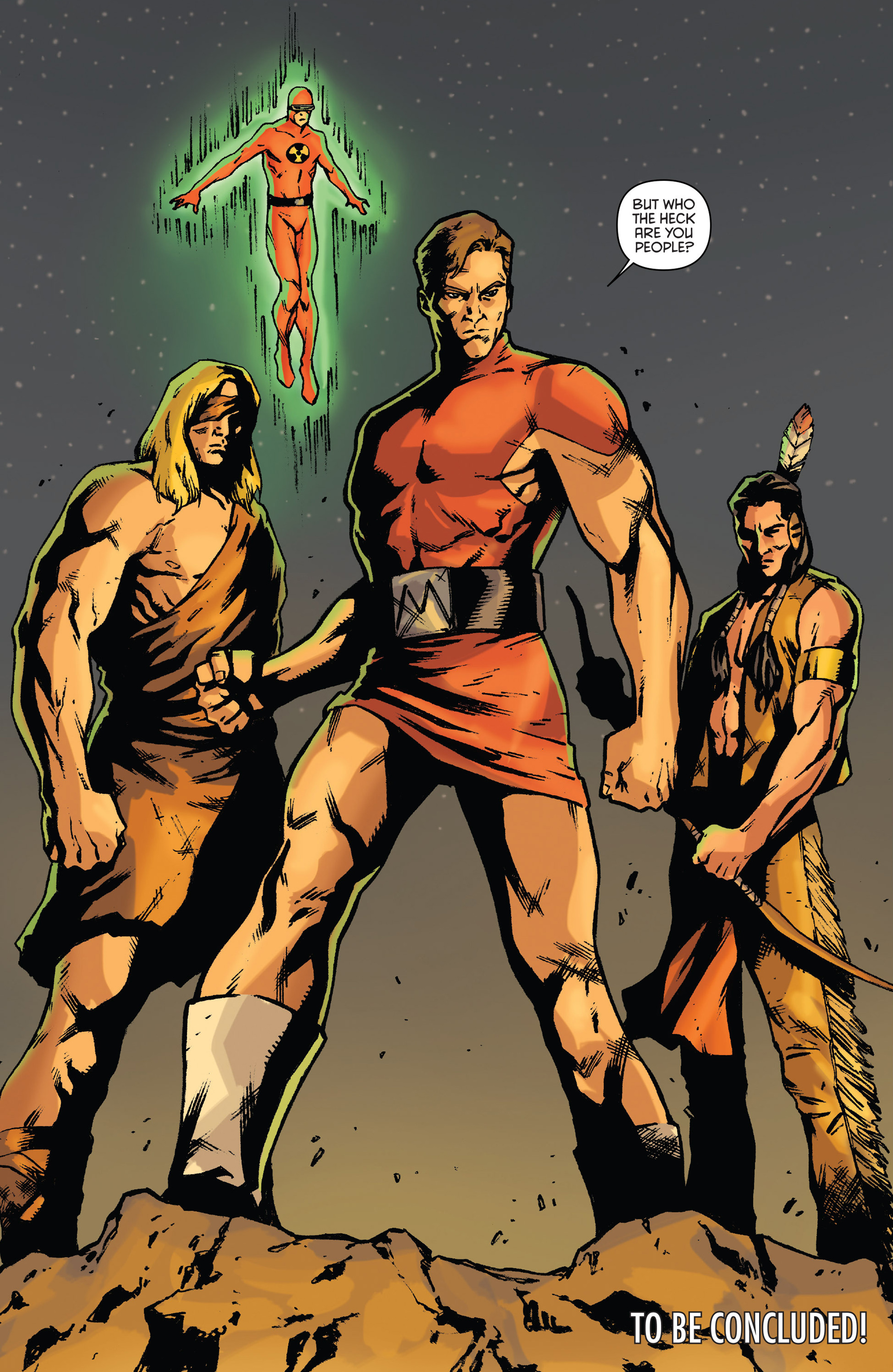 Read online Gold Key: Alliance comic -  Issue #4 - 24