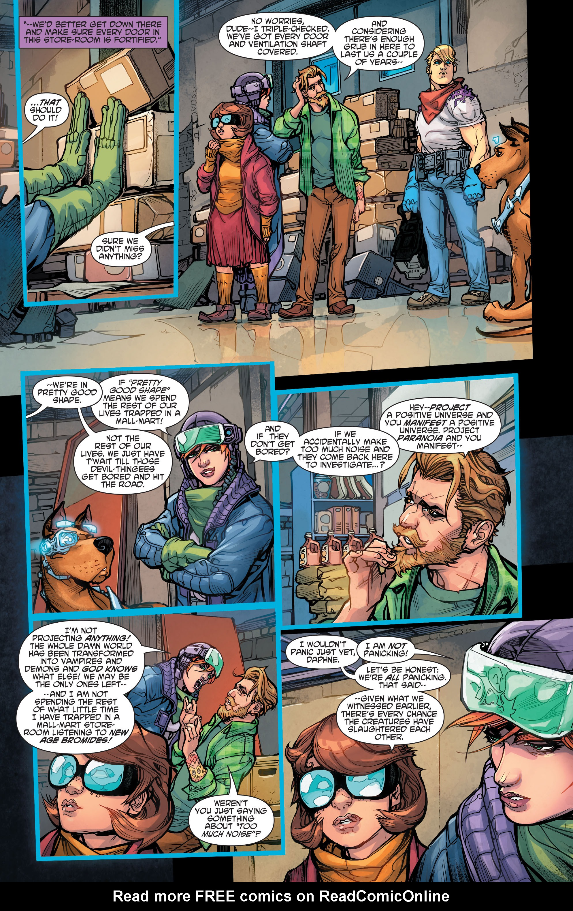 Read online Scooby Apocalypse comic -  Issue #5 - 22