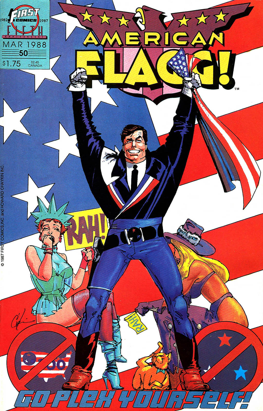 American Flagg! 50 Page 1