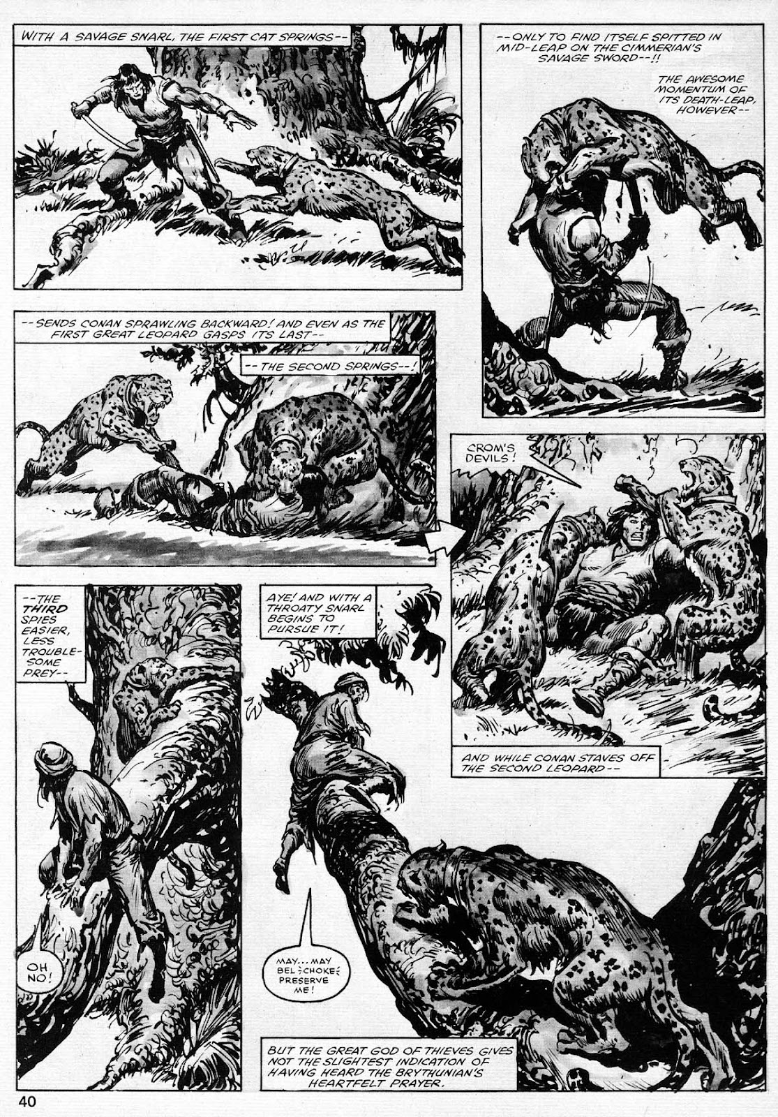 The Savage Sword Of Conan Issue #77 #78 - English 40