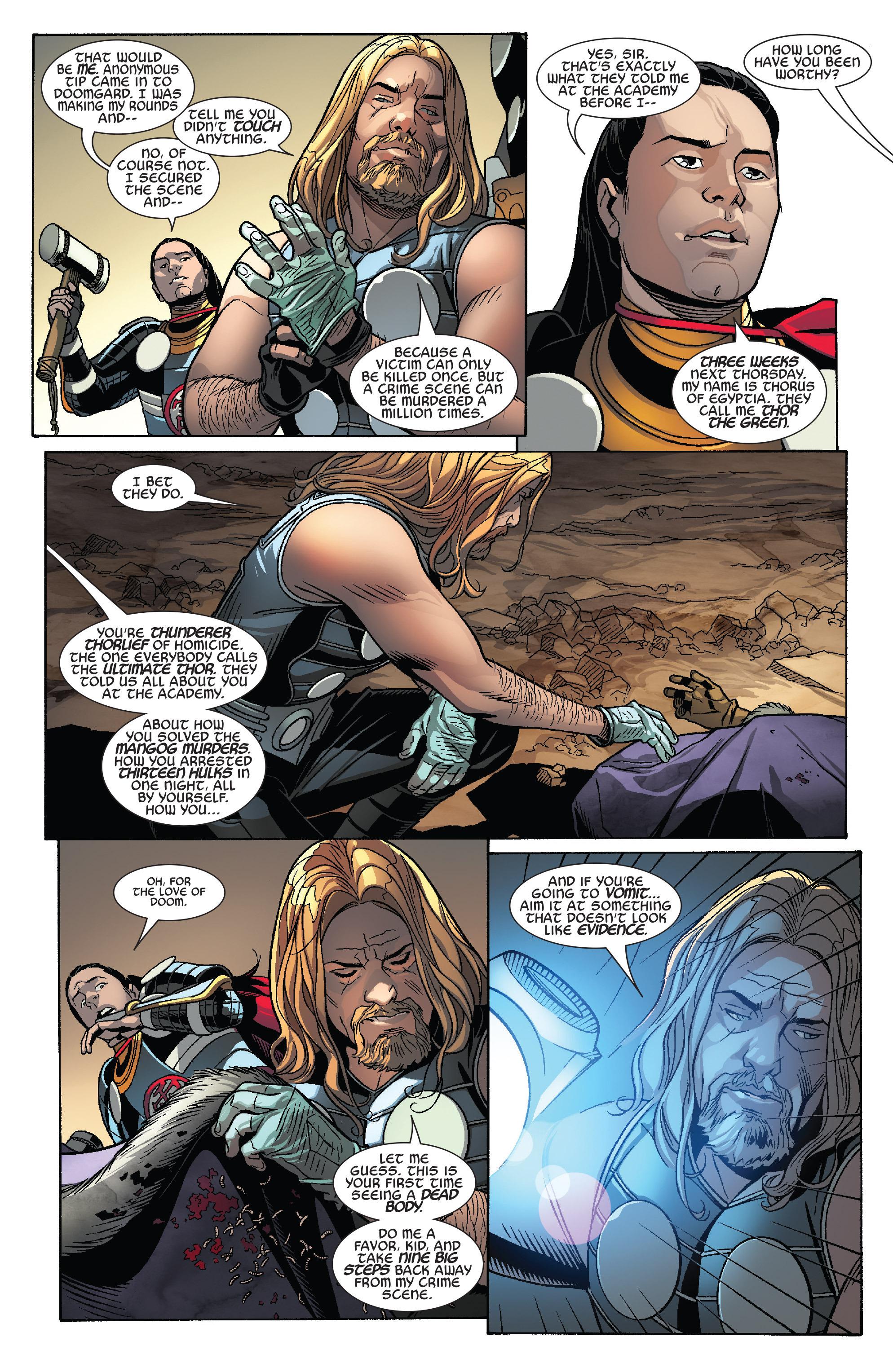Thors #1 #4 - English 5