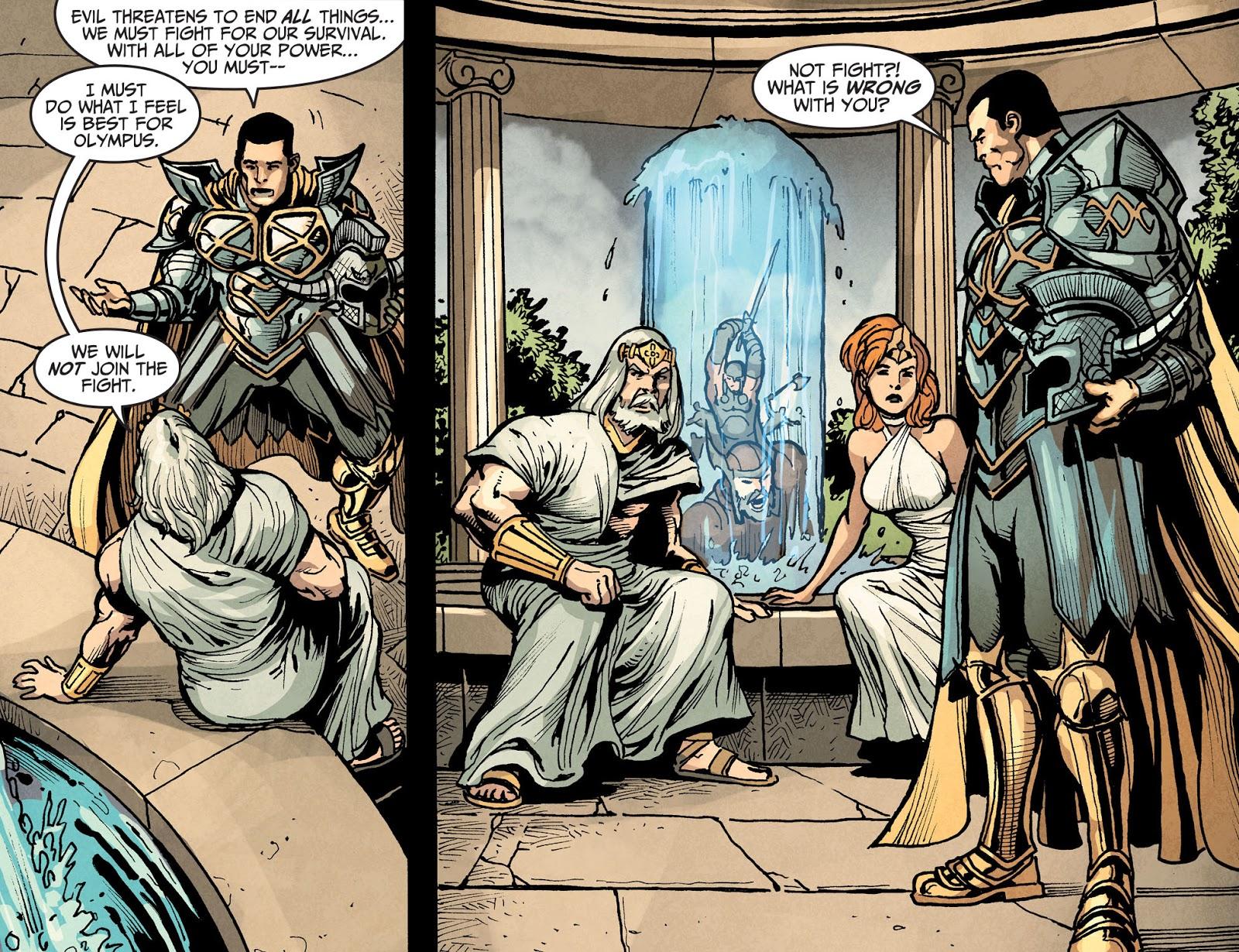 Injustice: Gods Among Us Year Four Issue #16 #17 - English 10