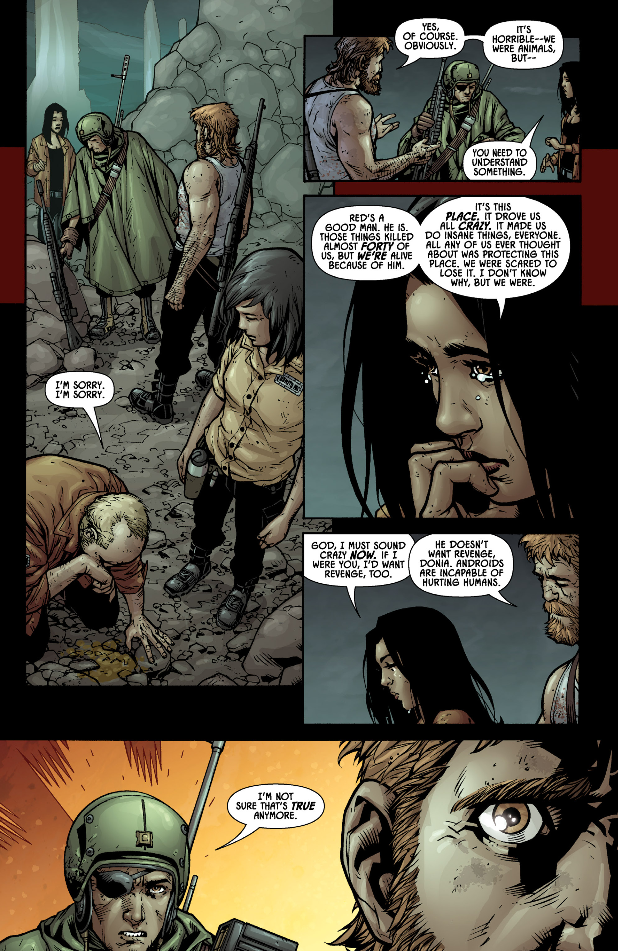 Aliens (2009) TPB Page 57
