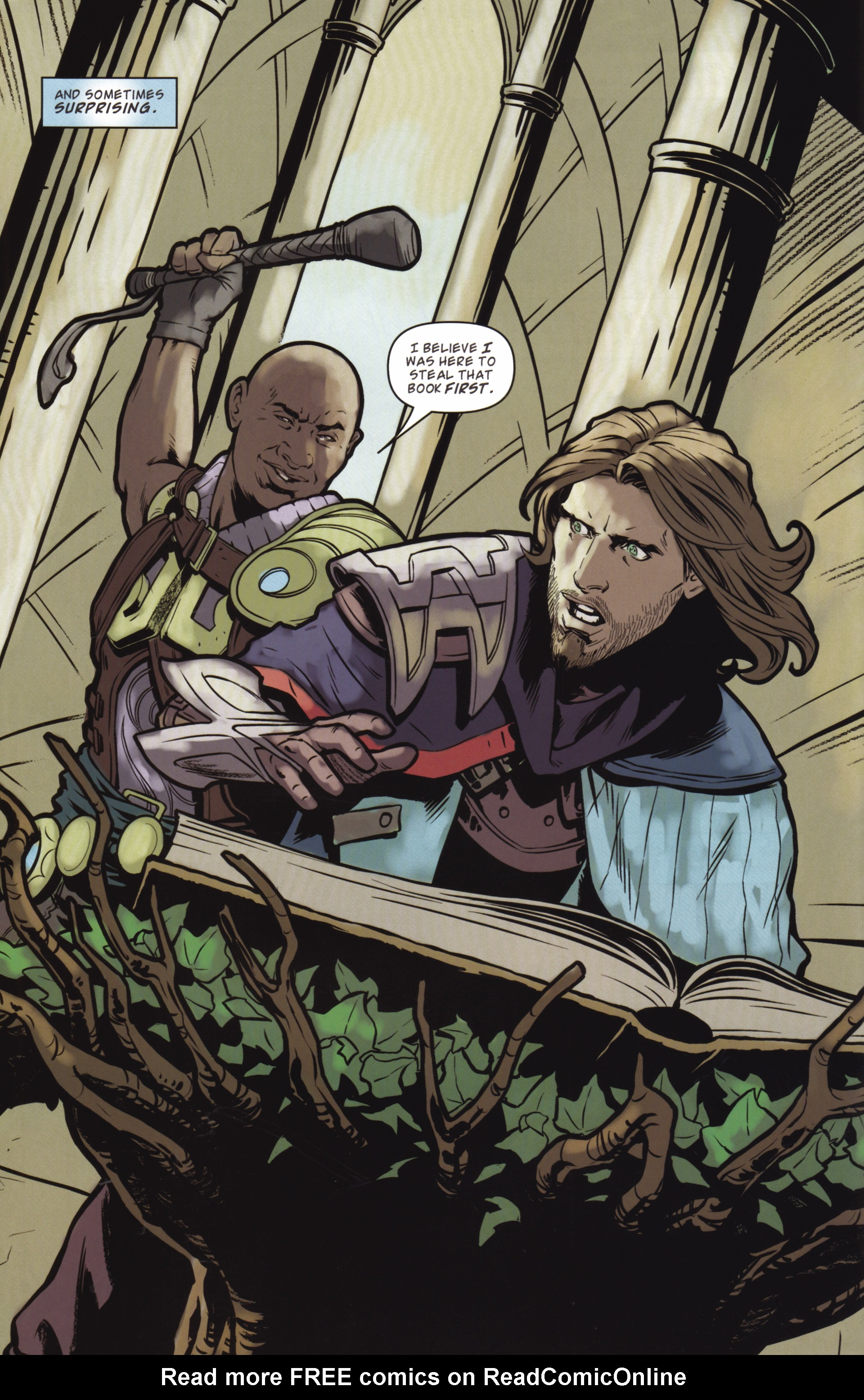 Read online Magic: The Gathering--Path of Vengeance comic -  Issue #2 - 12