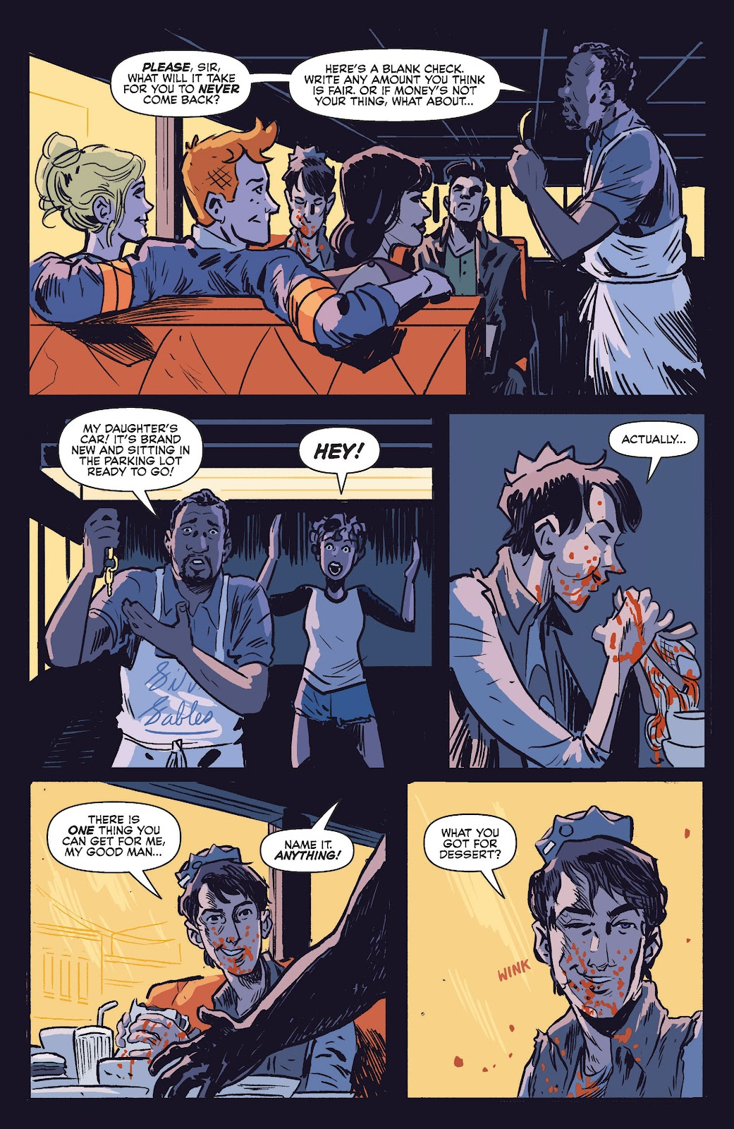 Jughead The Hunger Issue #0 #1 - English 9
