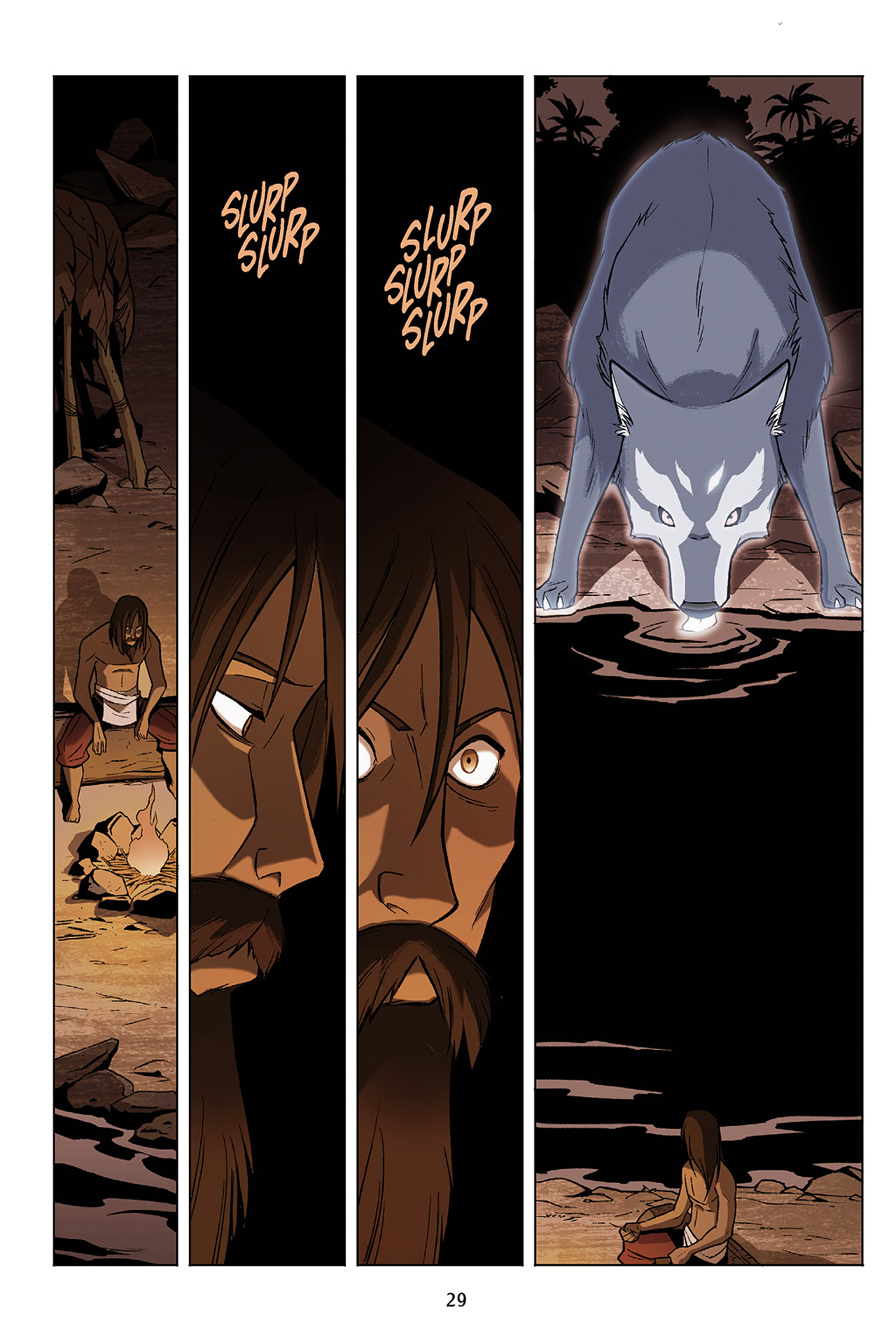 Read online Nickelodeon Avatar: The Last Airbender - The Search comic -  Issue # Part 1 - 30