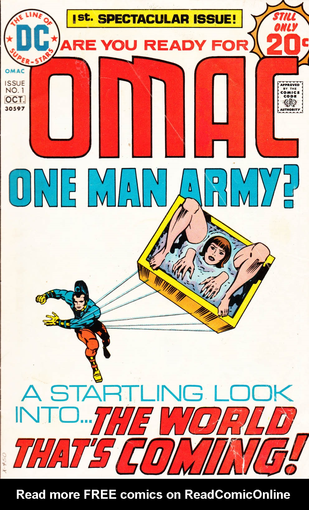 OMAC (1974) 1 Page 1