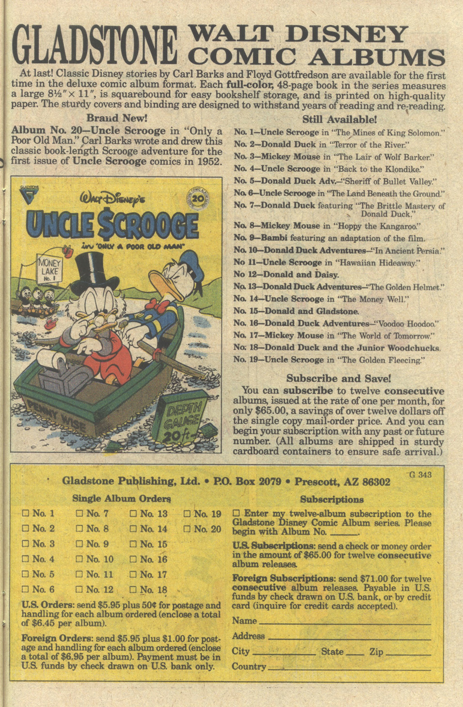 Uncle Scrooge (1953) Issue #239 #239 - English 27