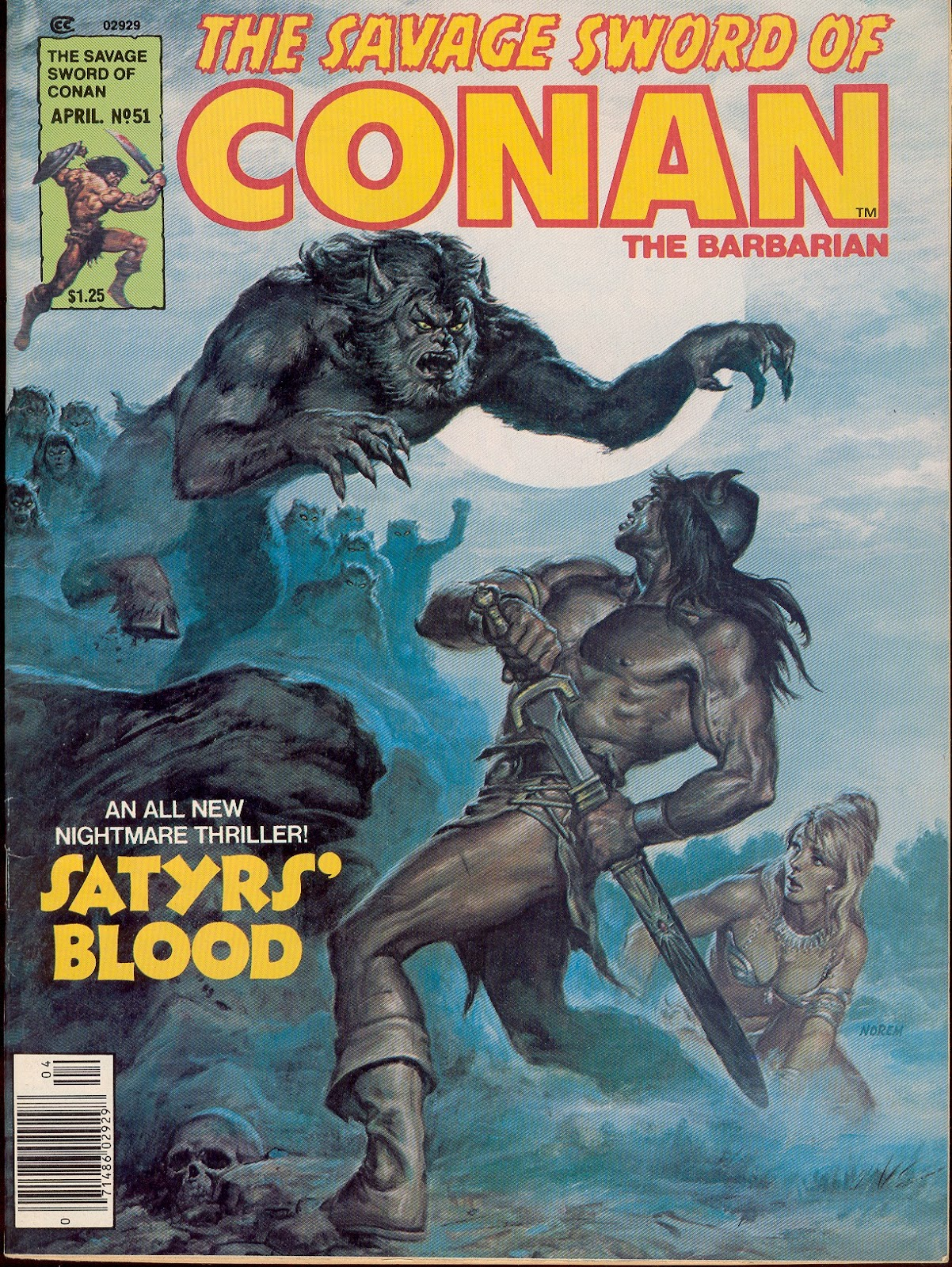 The Savage Sword Of Conan Issue #51 #52 - English 1