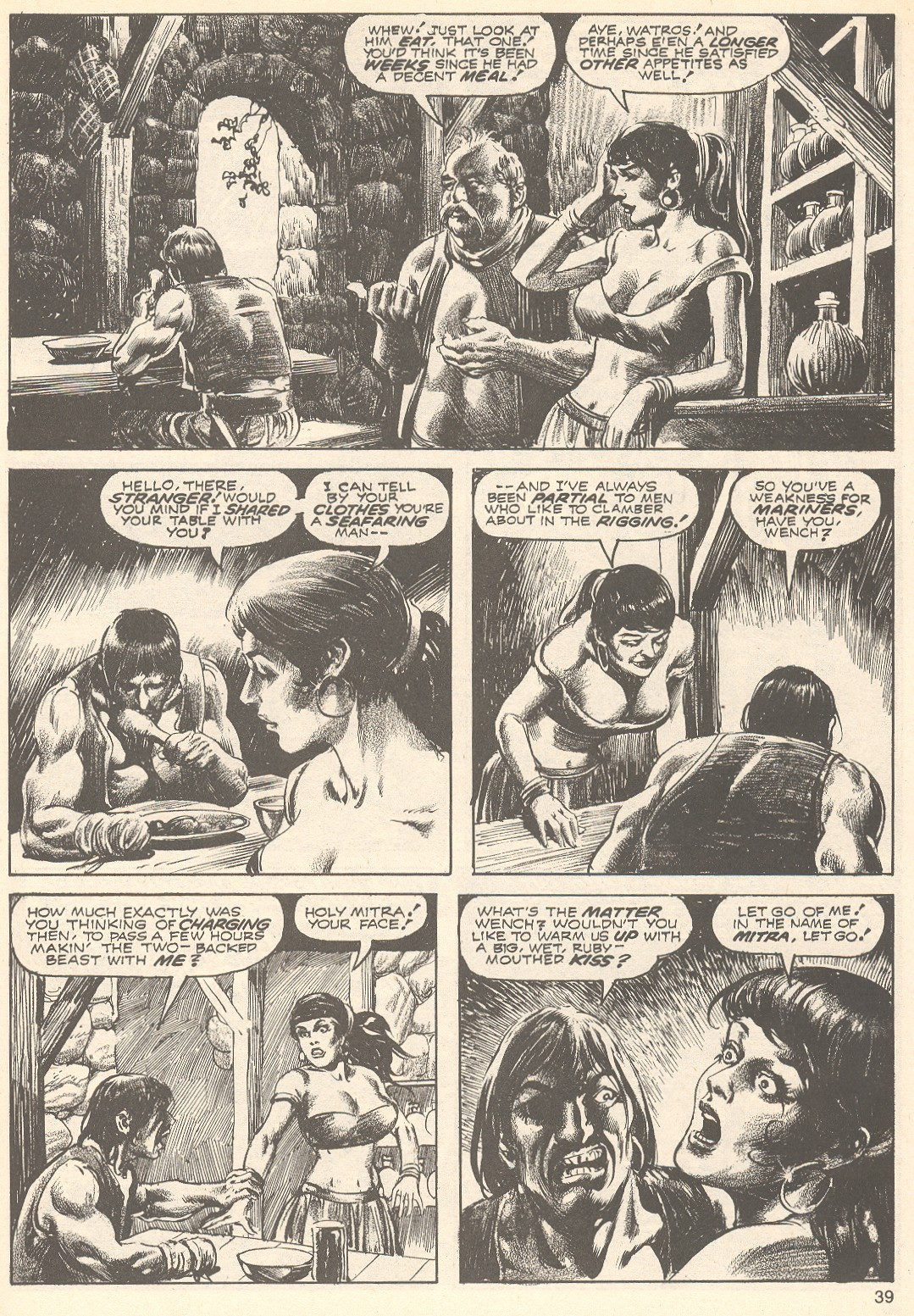 The Savage Sword Of Conan Issue #75 #76 - English 39
