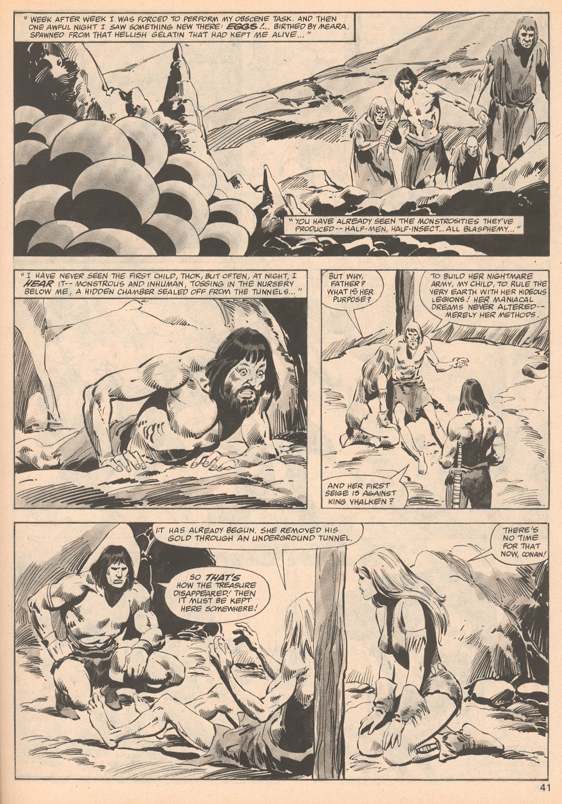 The Savage Sword Of Conan Issue #70 #71 - English 41