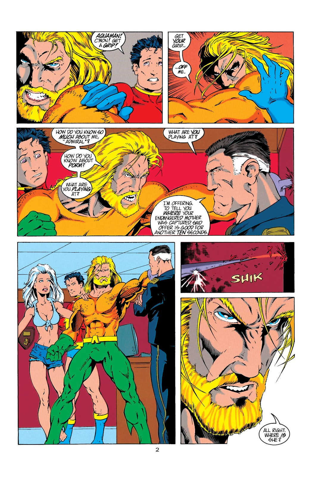 Aquaman (1994) Issue #4 #10 - English 3