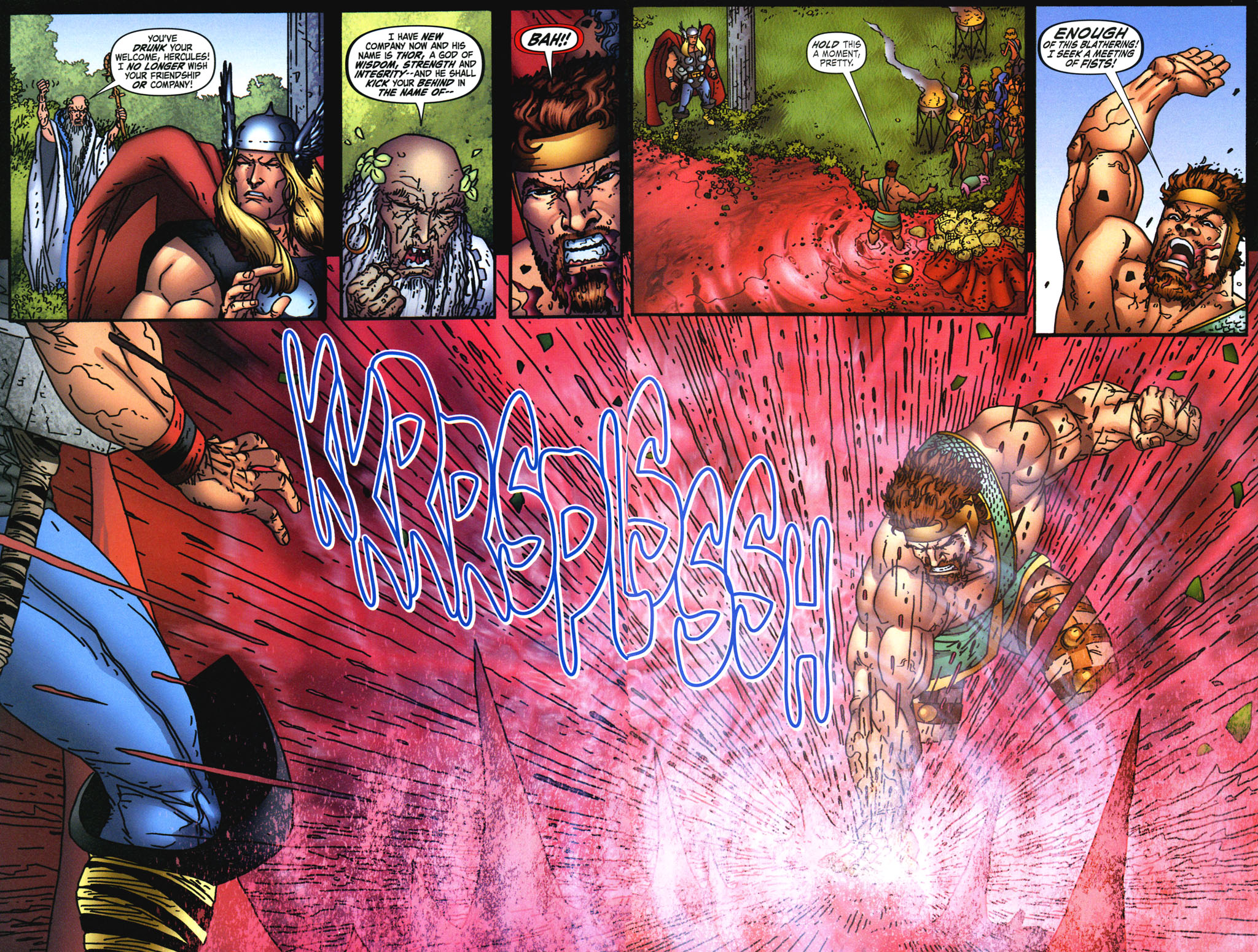 Read online Thor: Blood Oath comic -  Issue #3 - 6
