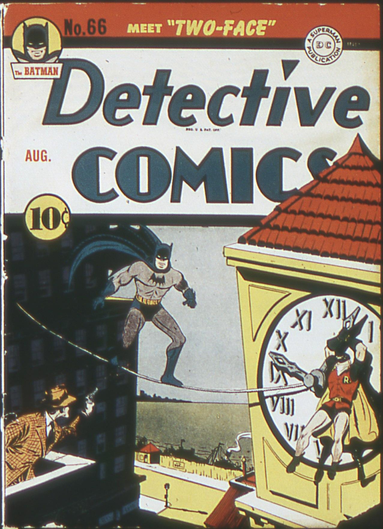 Detective Comics (1937) 66 Page 1