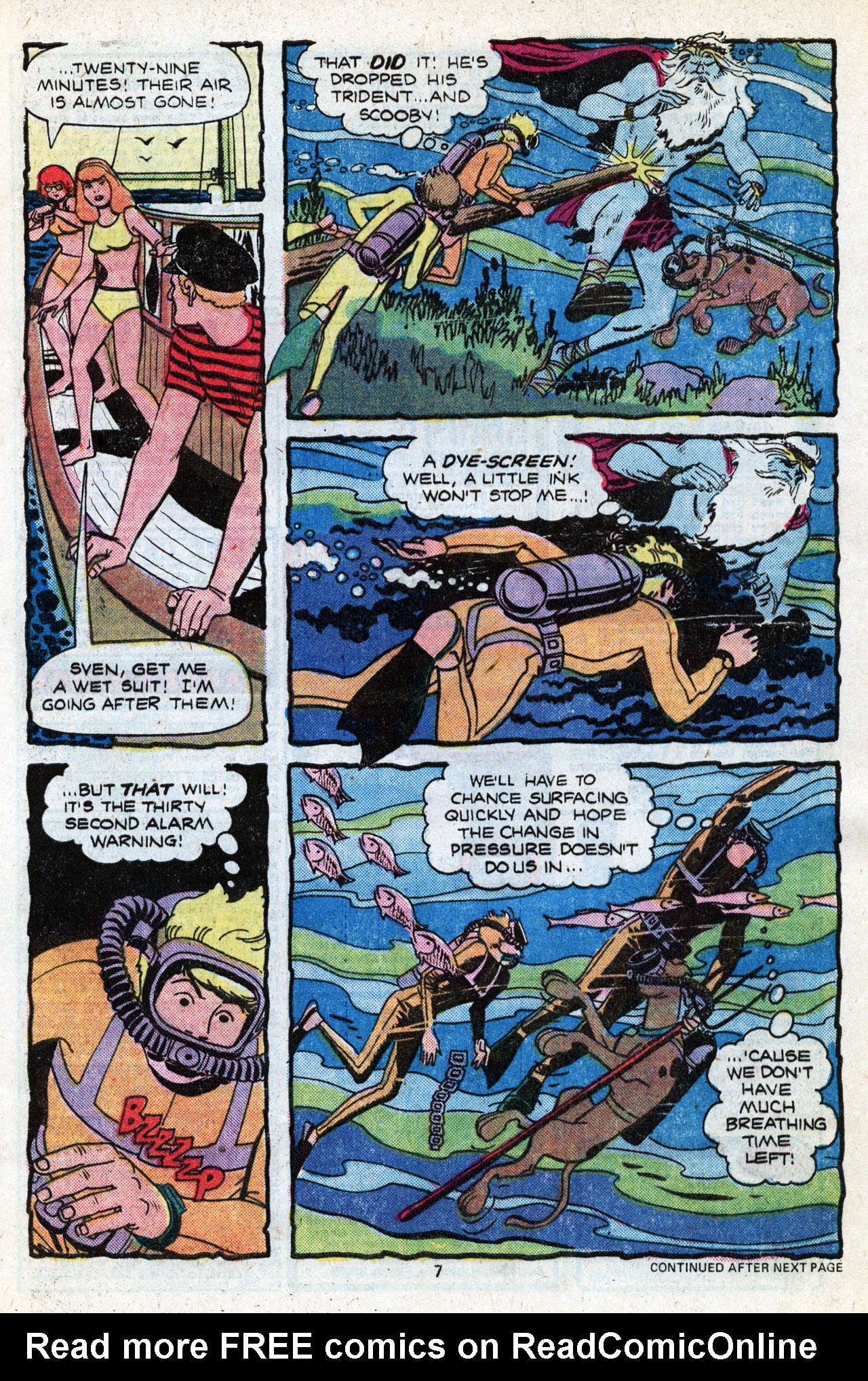 Read online Scooby-Doo (1977) comic -  Issue #3 - 9