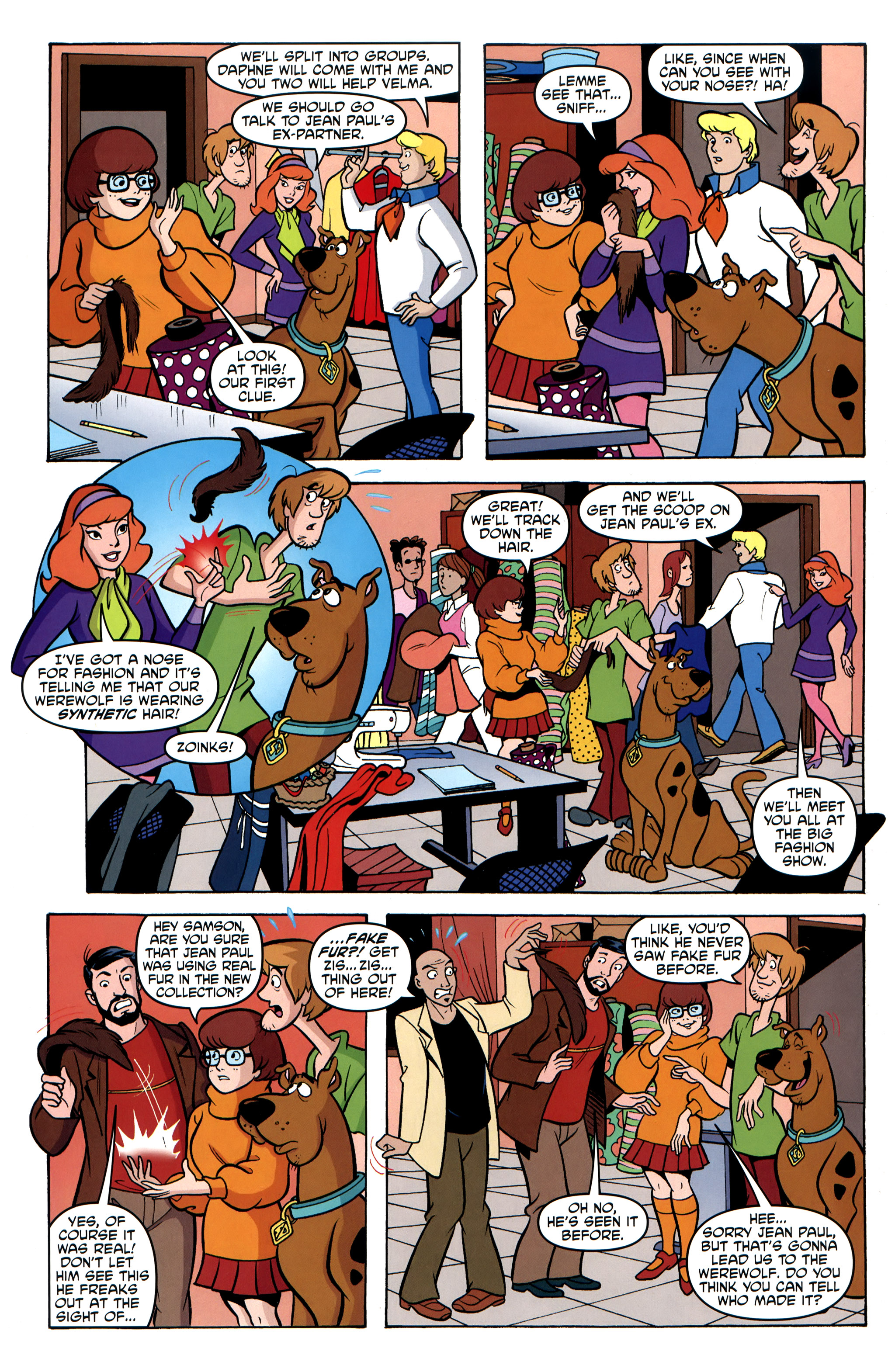 Read online Scooby-Doo: Where Are You? comic -  Issue #31 - 18